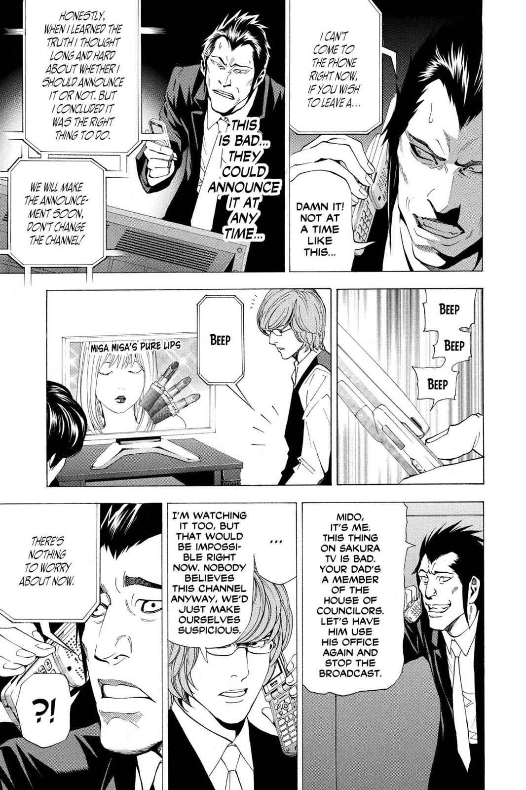Death Note Chapter 50 Page 17