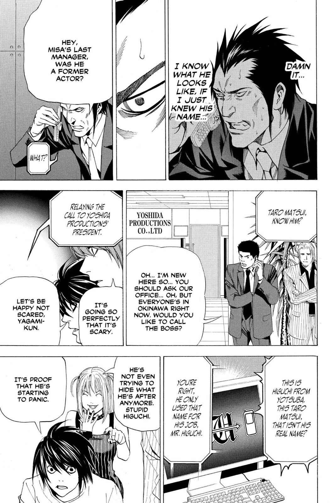 Death Note Chapter 50 Page 19