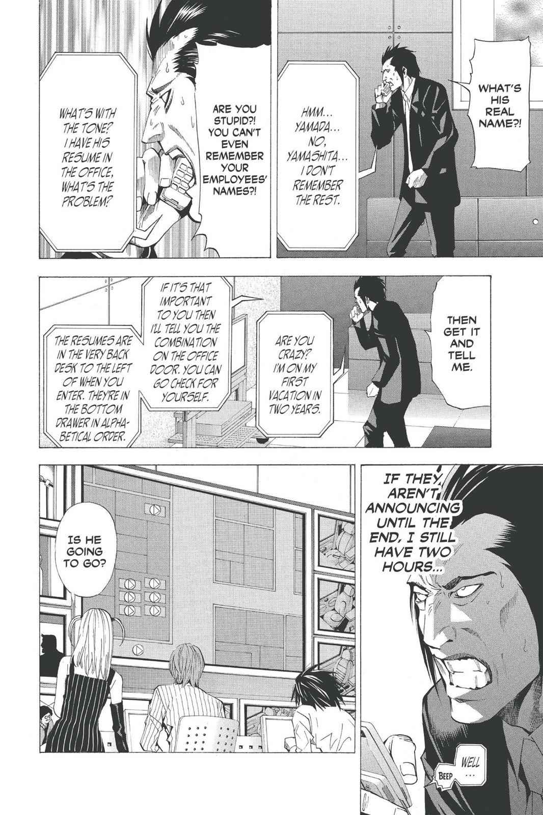 Death Note Chapter 50 Page 20