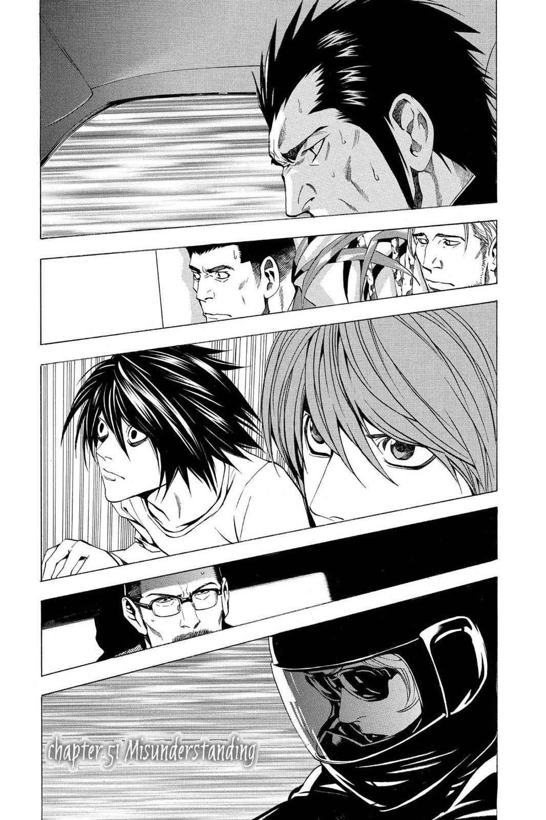 Death Note Chapter 51 Page 1