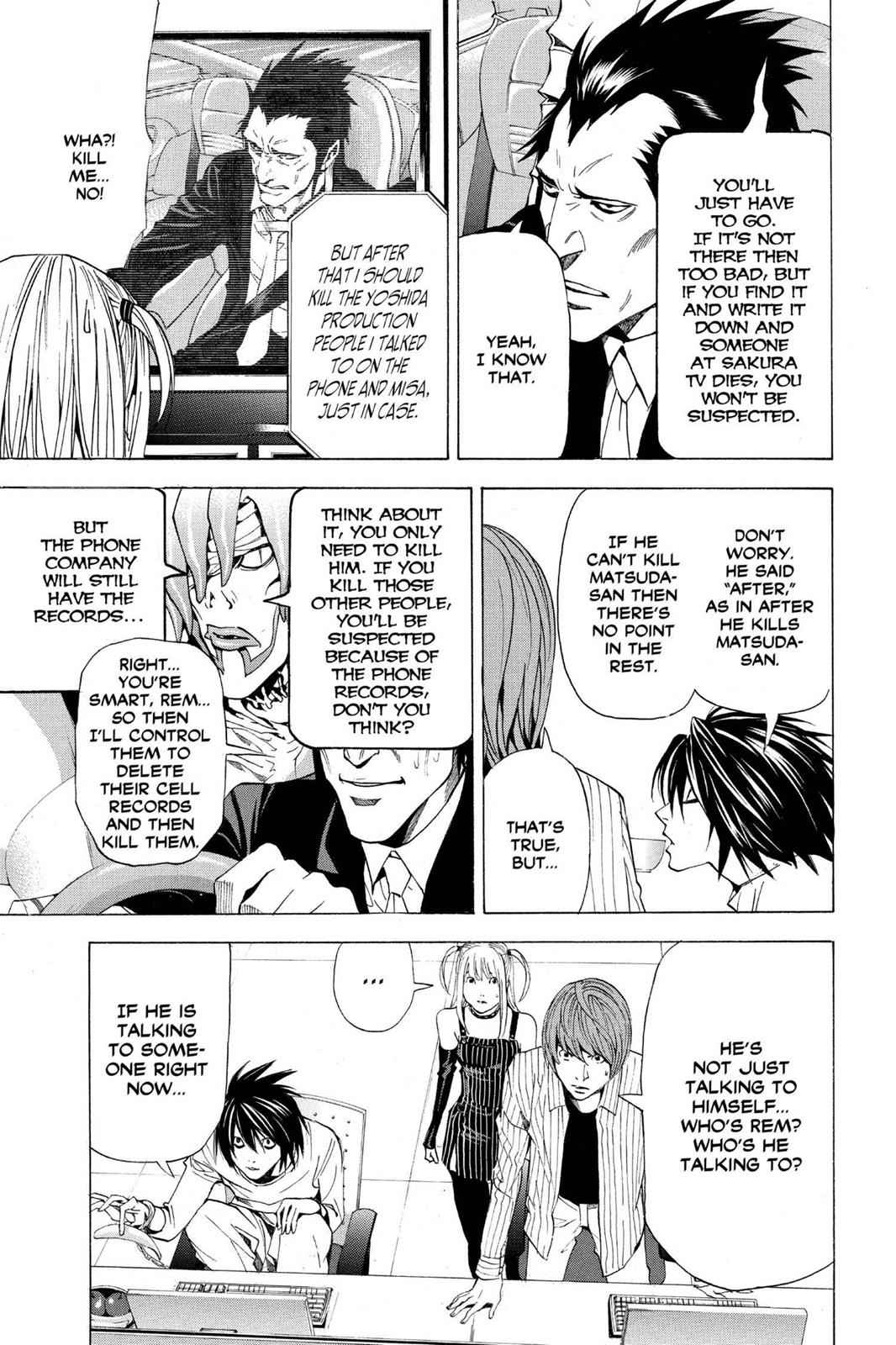 Death Note Chapter 51 Page 7