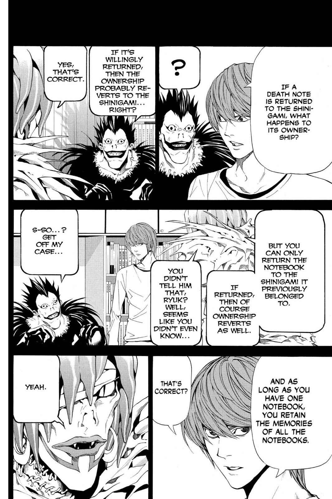 Death Note Chapter 54 Page 2