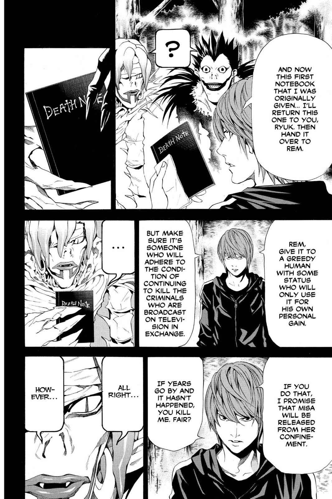 Death Note Chapter 54 Page 6