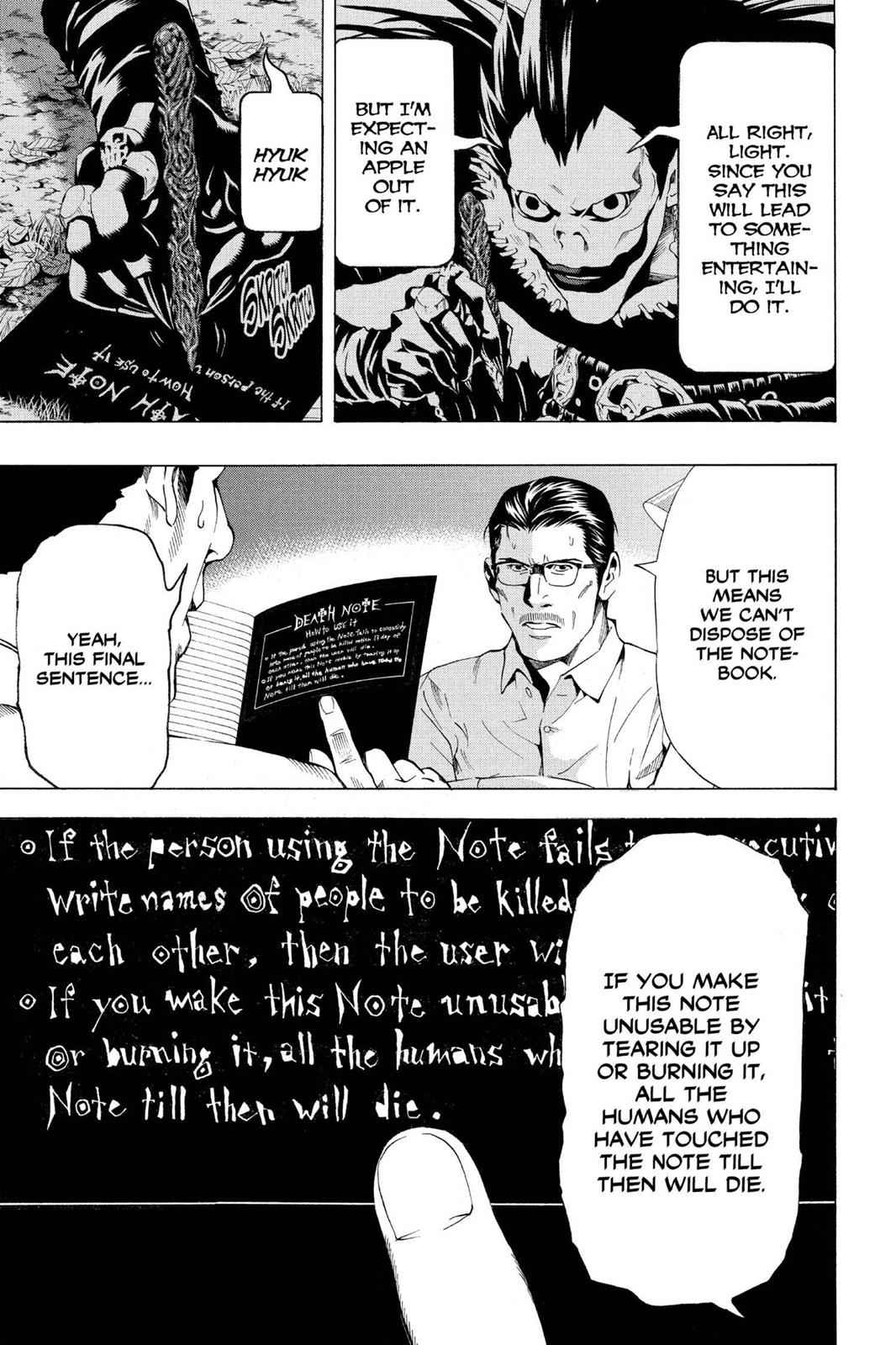 Death Note Chapter 55 Page 7