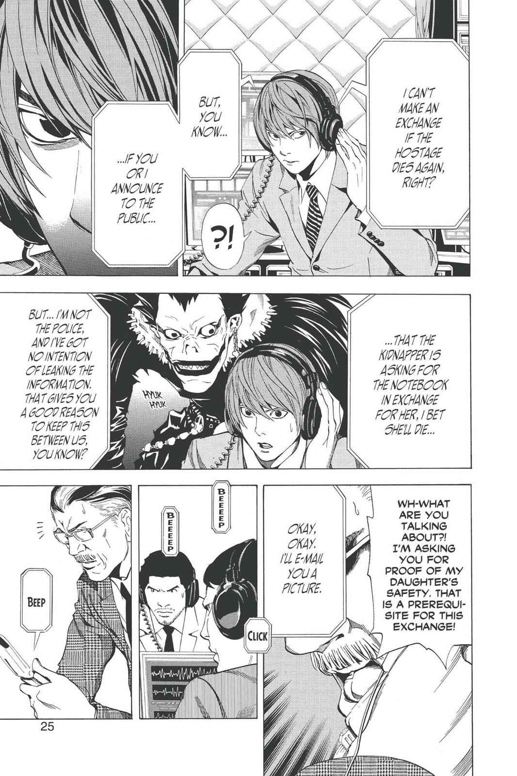 Death Note Chapter 62 Page 26