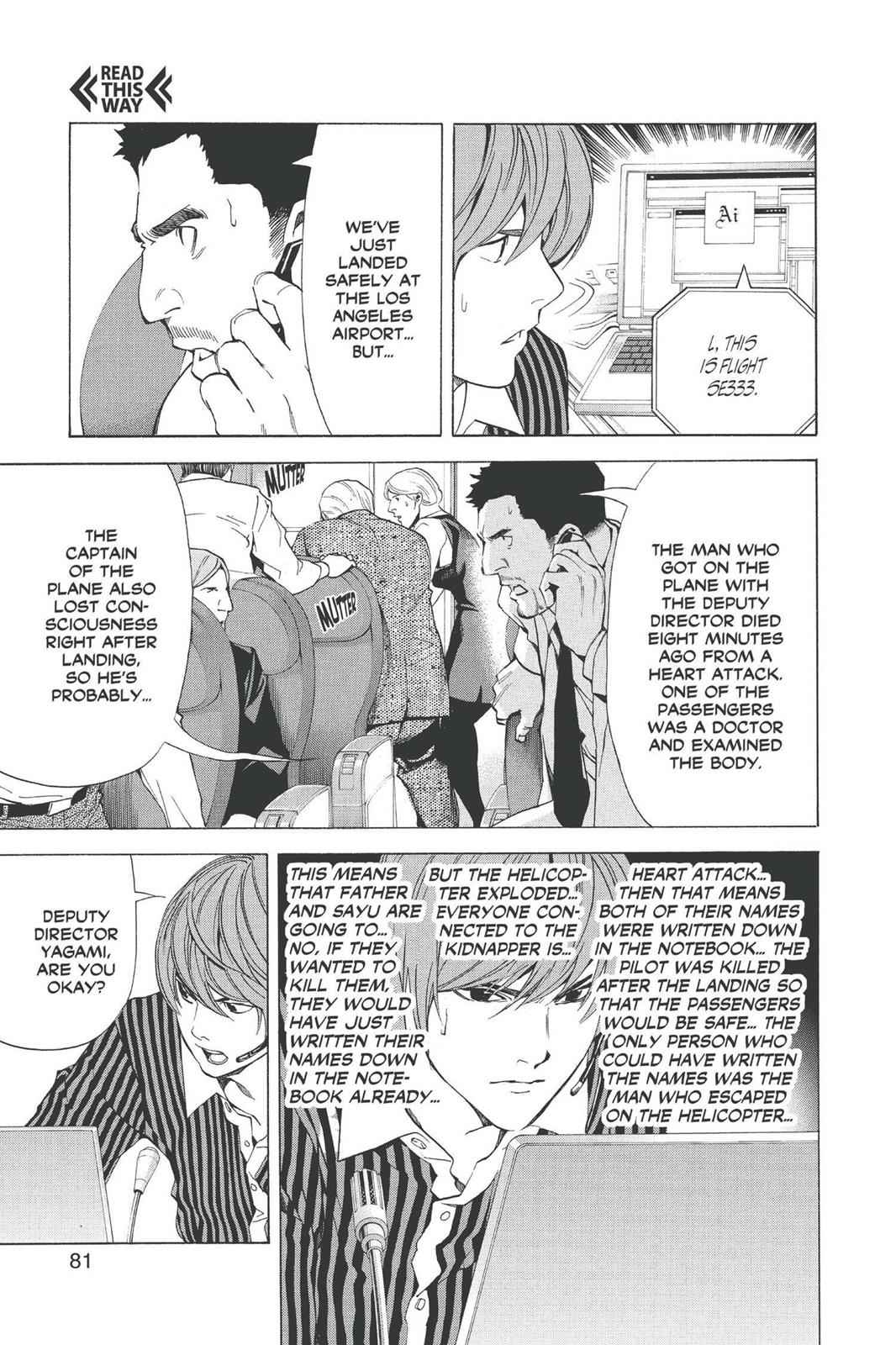 Death Note Chapter 65 Page 5