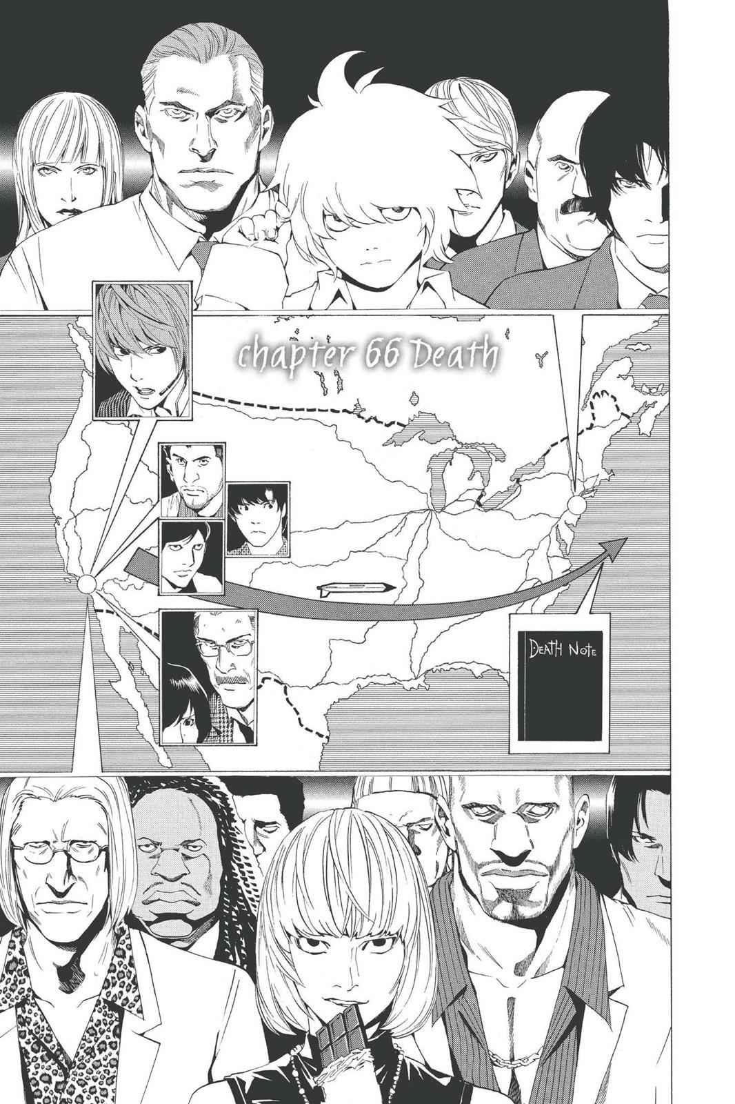 Death Note Chapter 66 Page 1