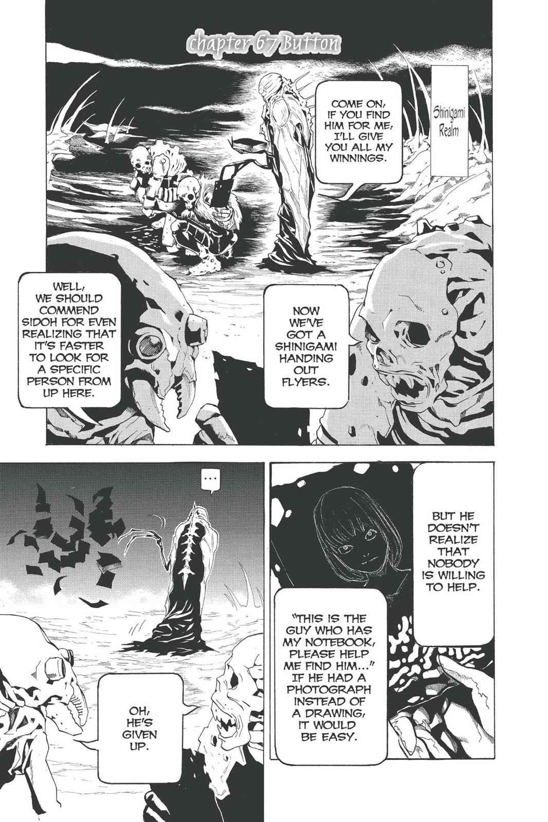 Death Note Chapter 67 Page 1