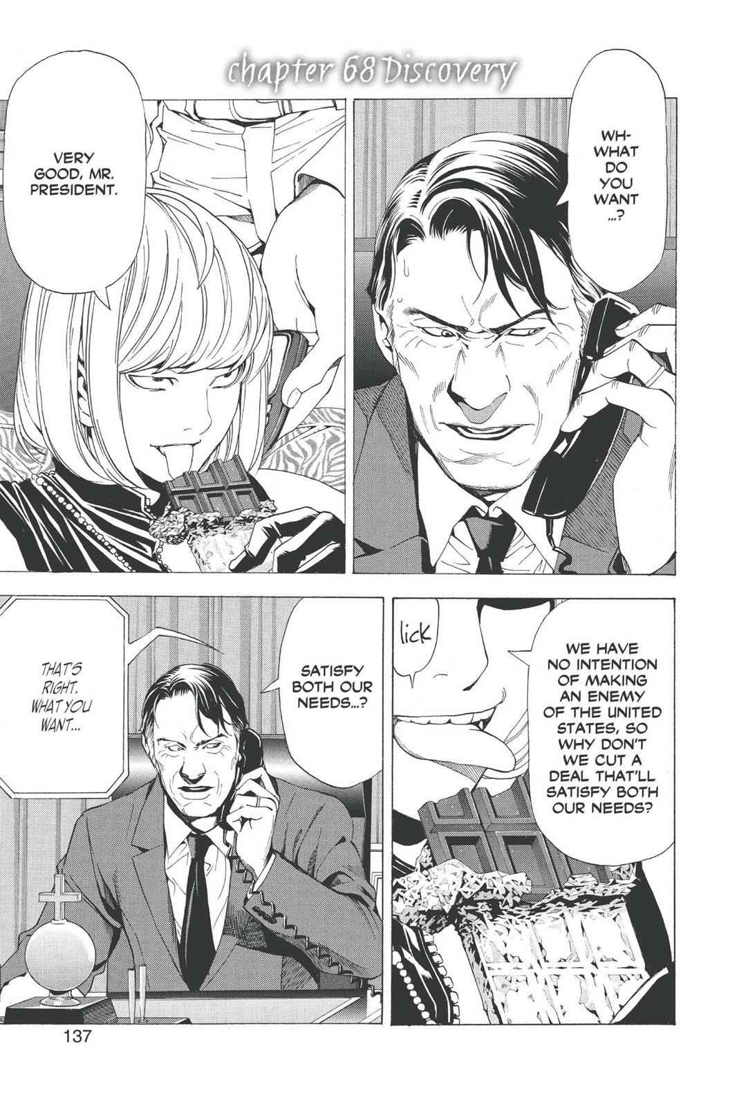 Death Note Chapter 68 Page 1