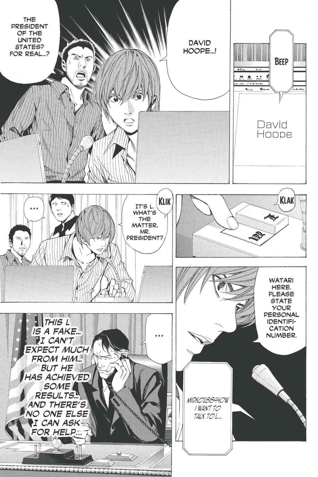 Death Note Chapter 68 Page 7
