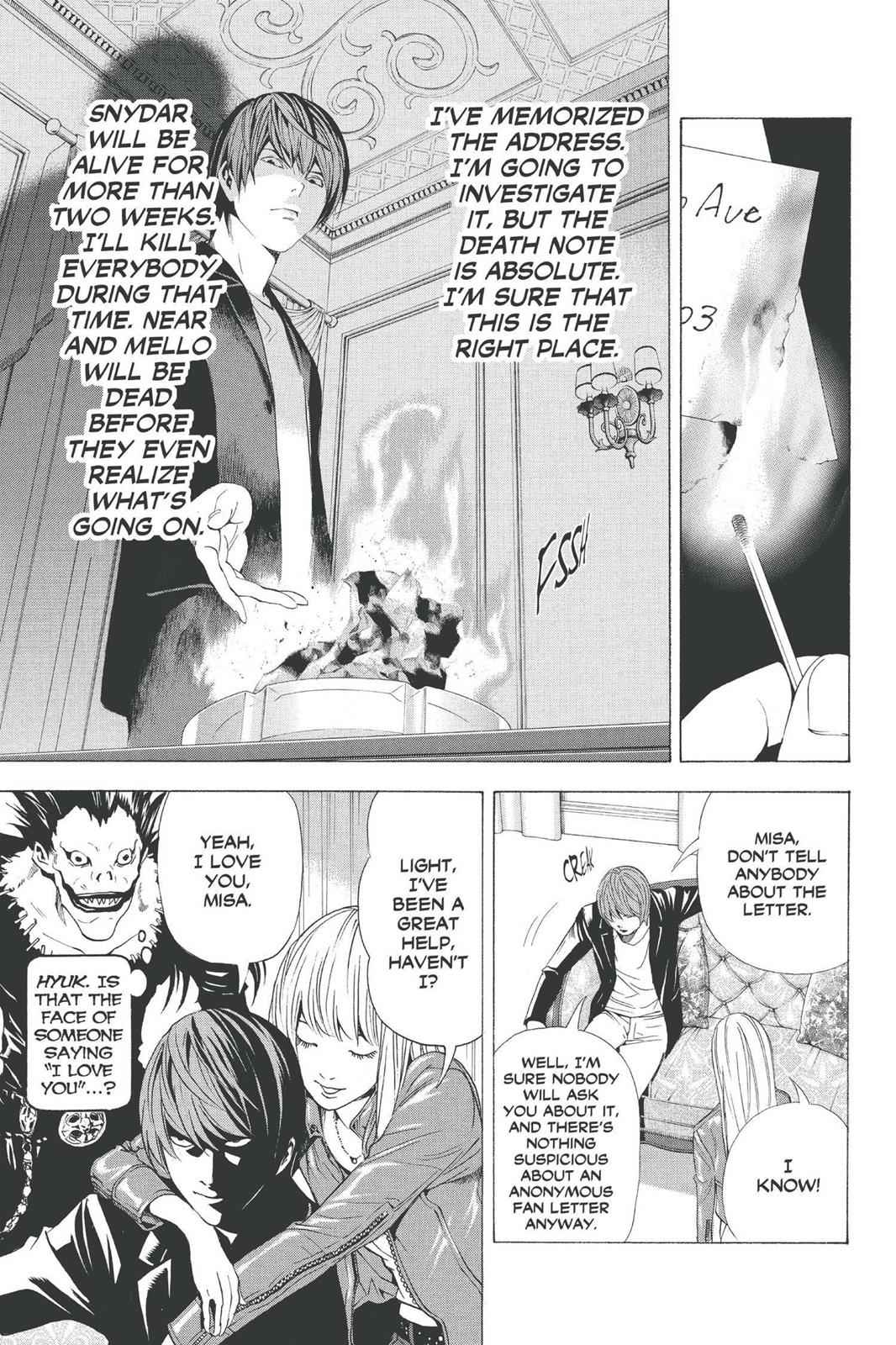 Death Note Chapter 69 Page 15