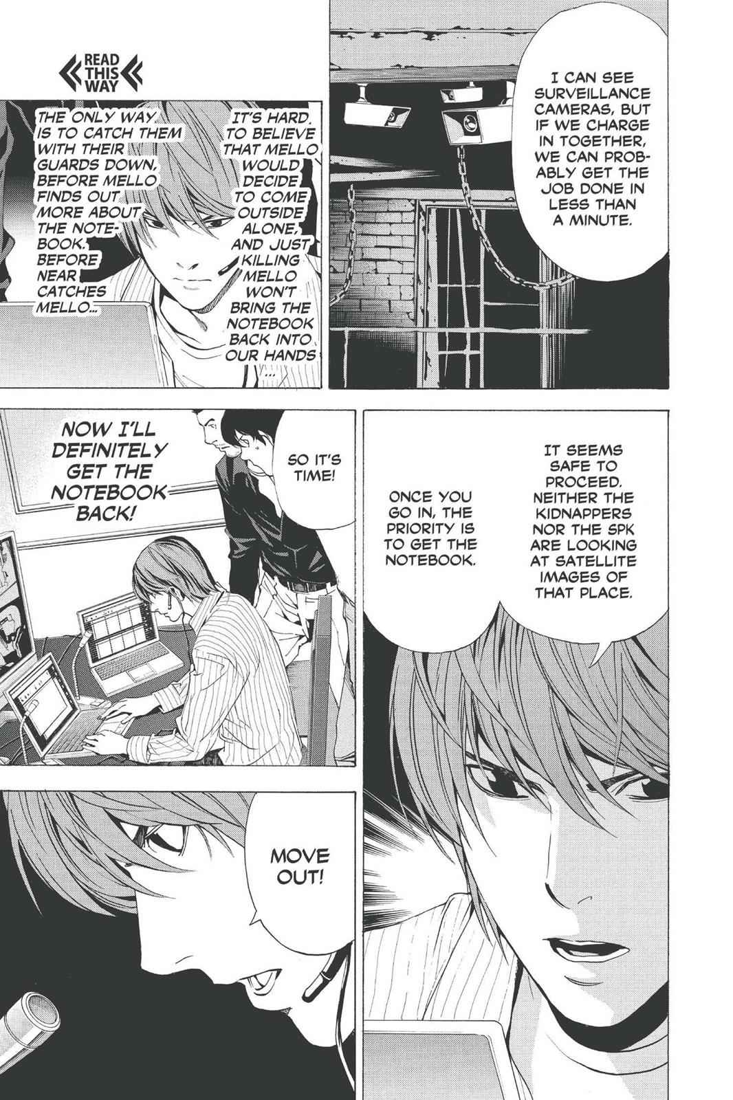 Death Note Chapter 69 Page 17