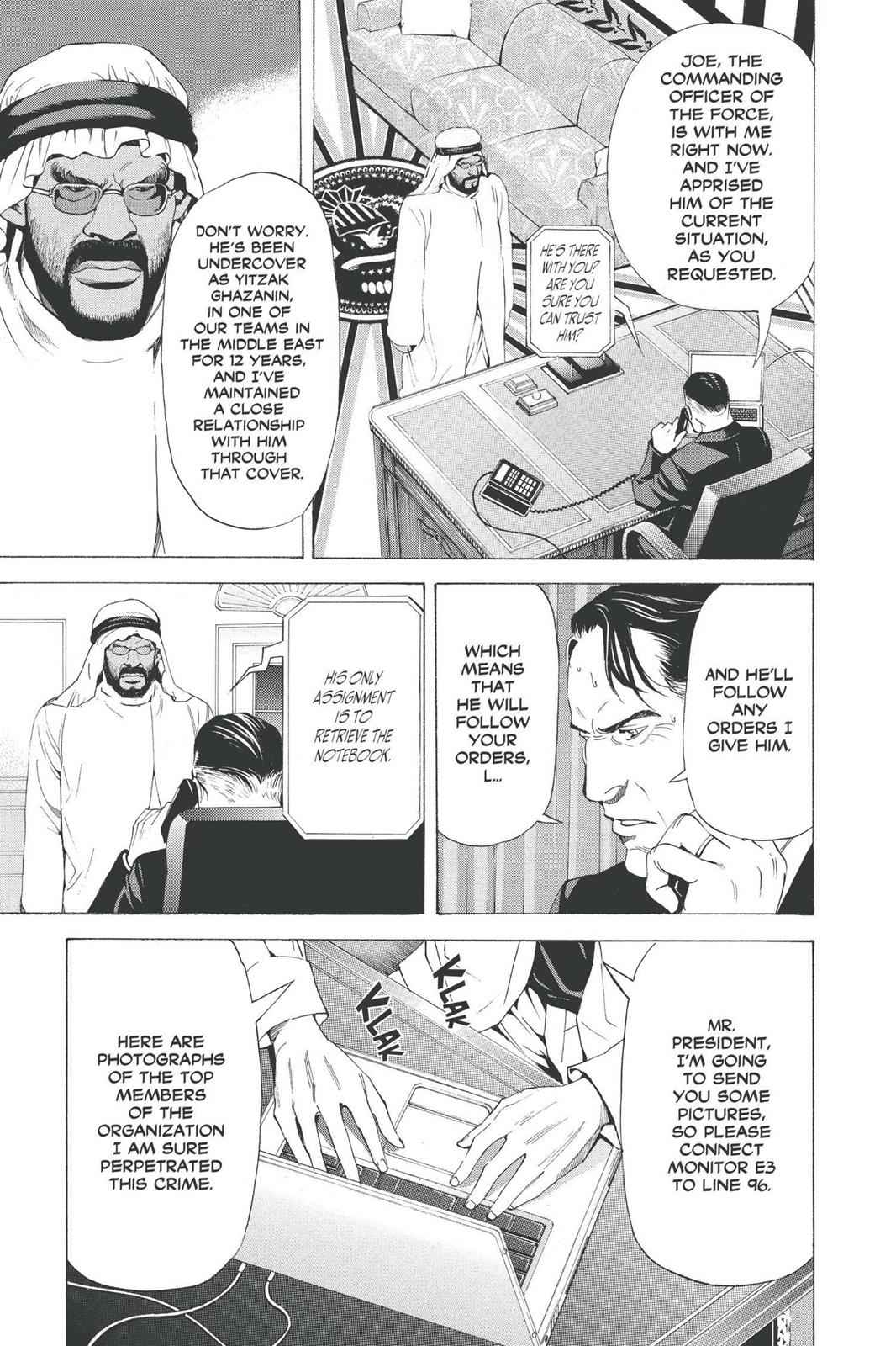 Death Note Chapter 69 Page 5
