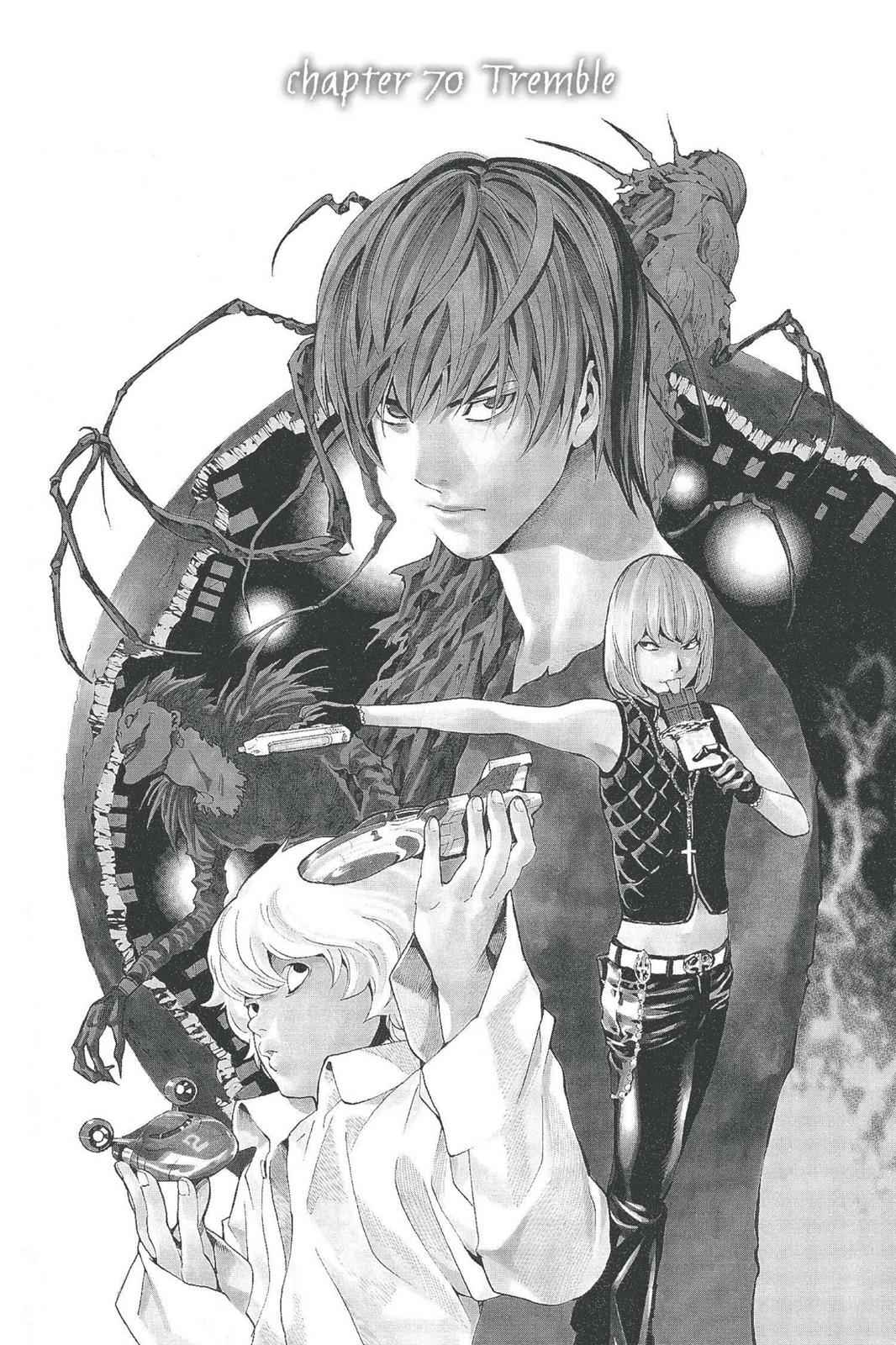 Death Note Chapter 70 Page 1