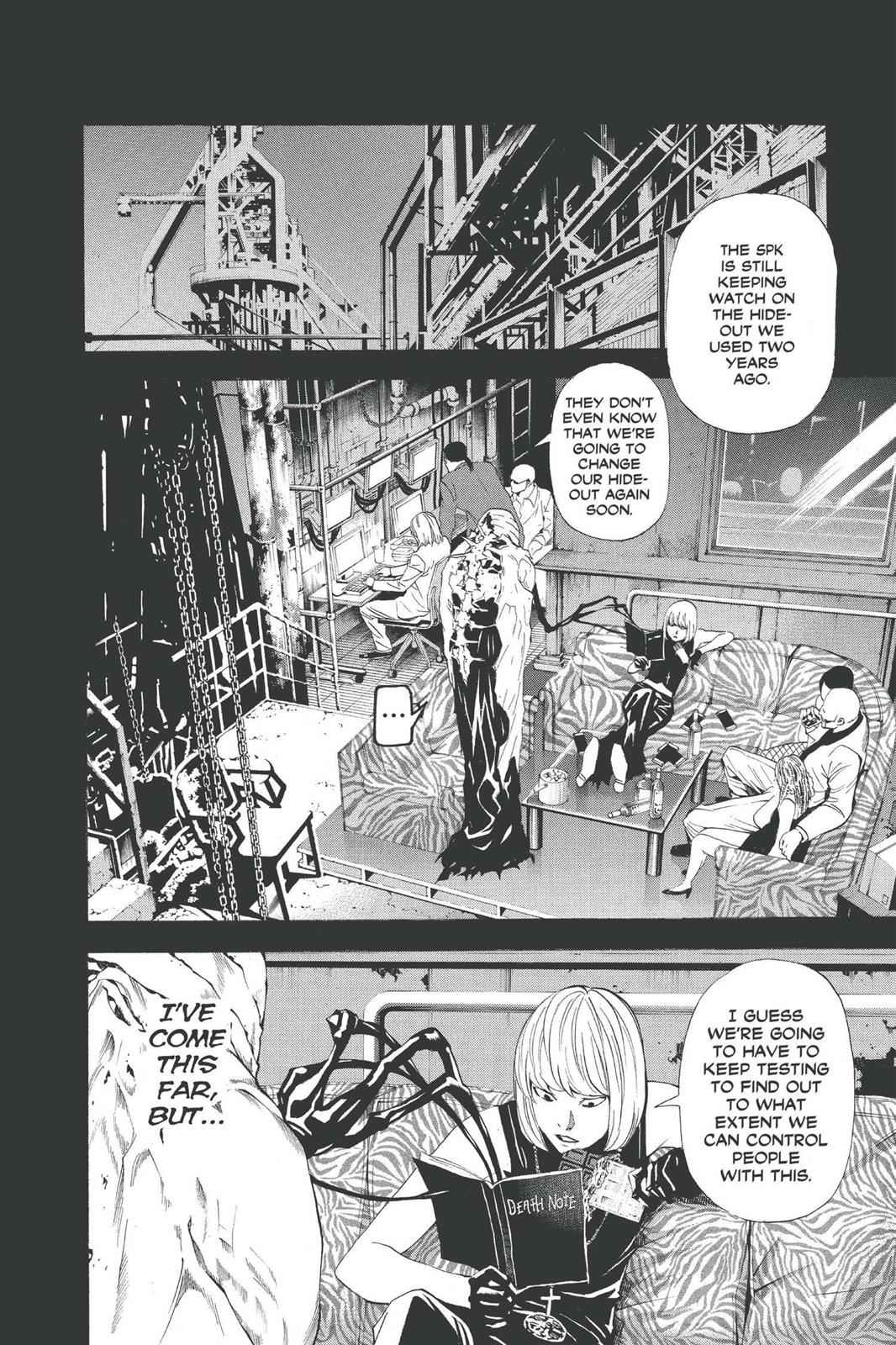 Death Note Chapter 70 Page 4