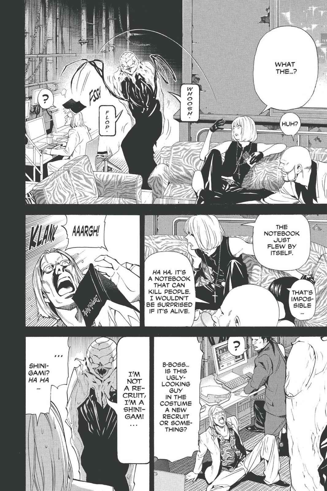 Death Note Chapter 70 Page 6