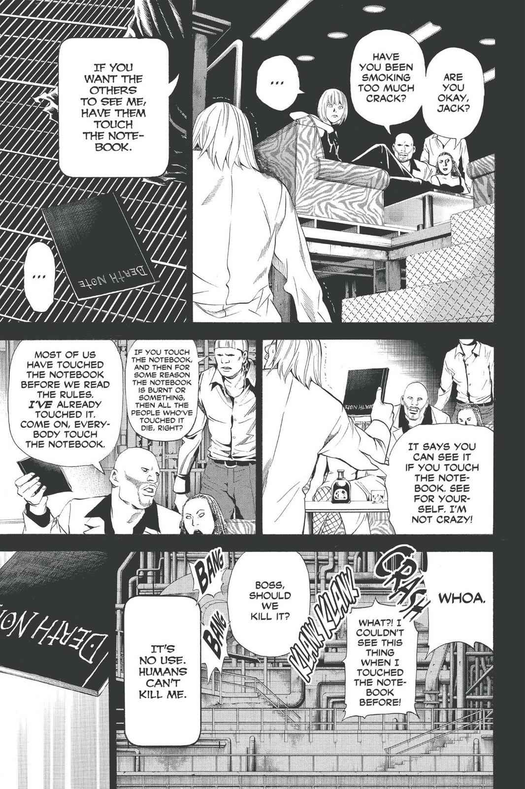 Death Note Chapter 70 Page 7