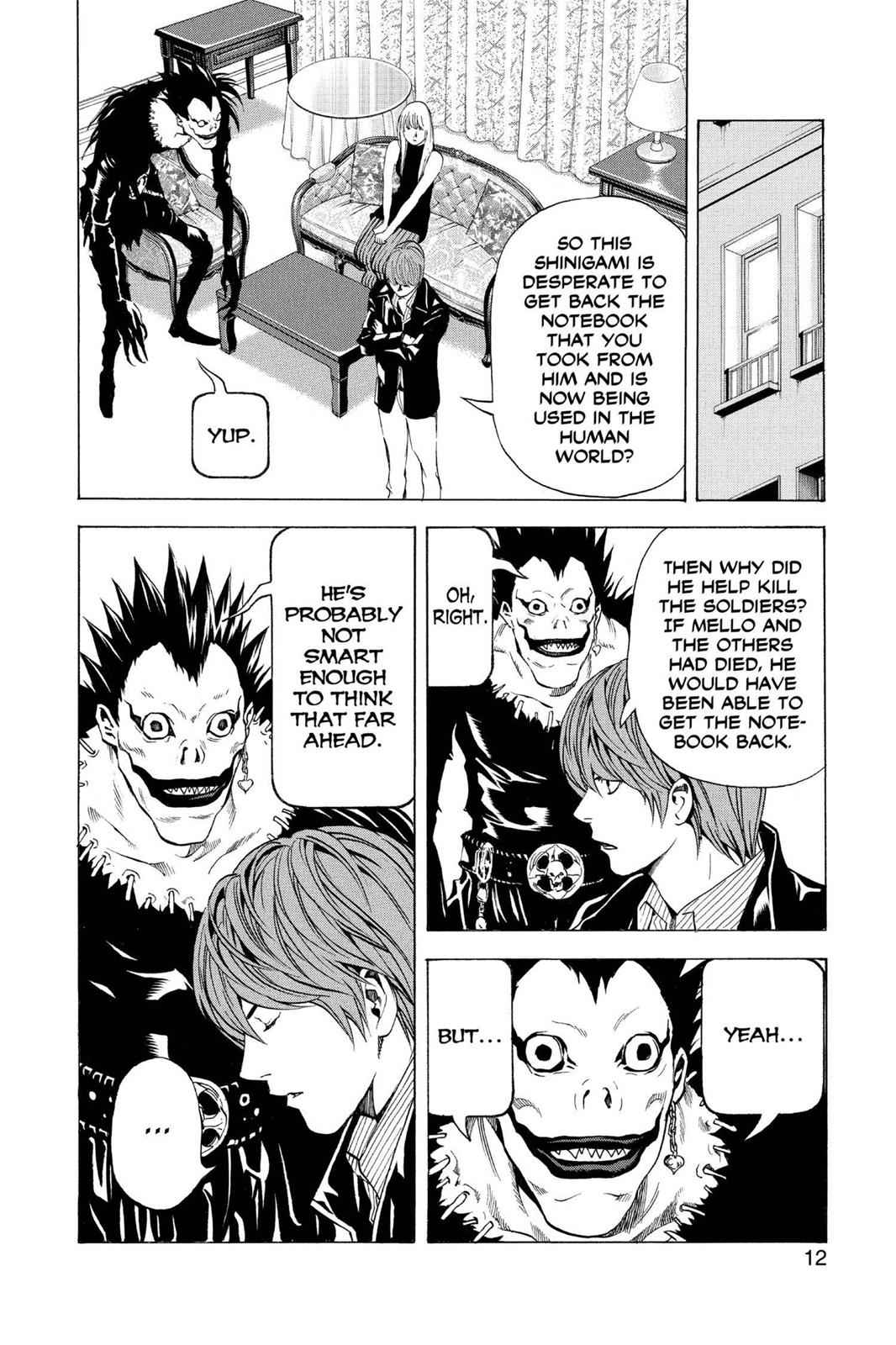 Death Note Chapter 71 Page 13