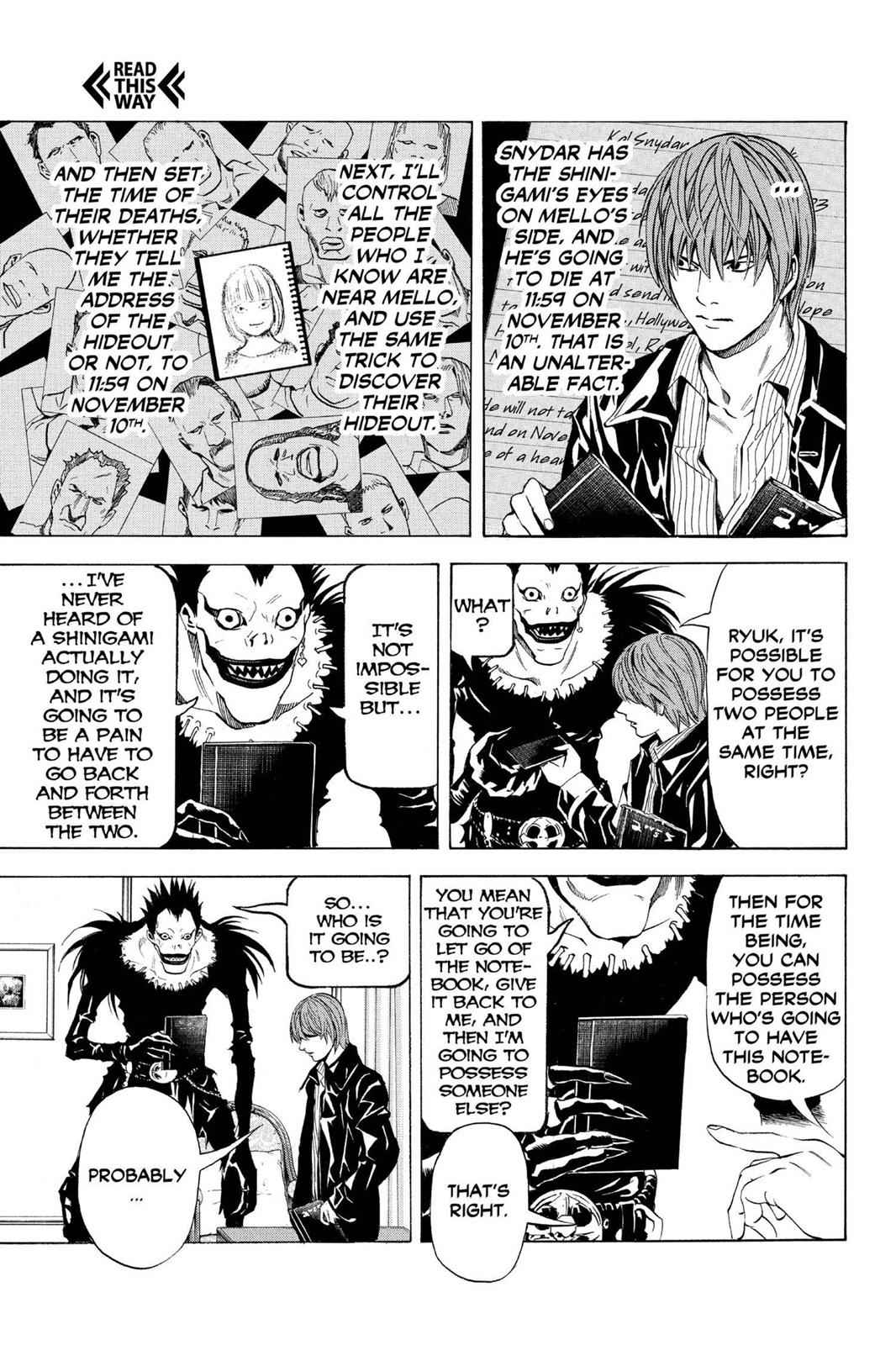 Death Note Chapter 71 Page 16
