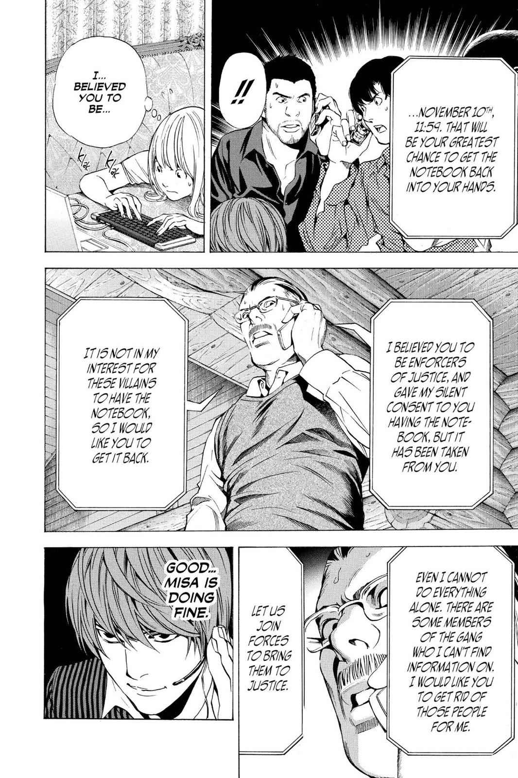Death Note Chapter 71 Page 21
