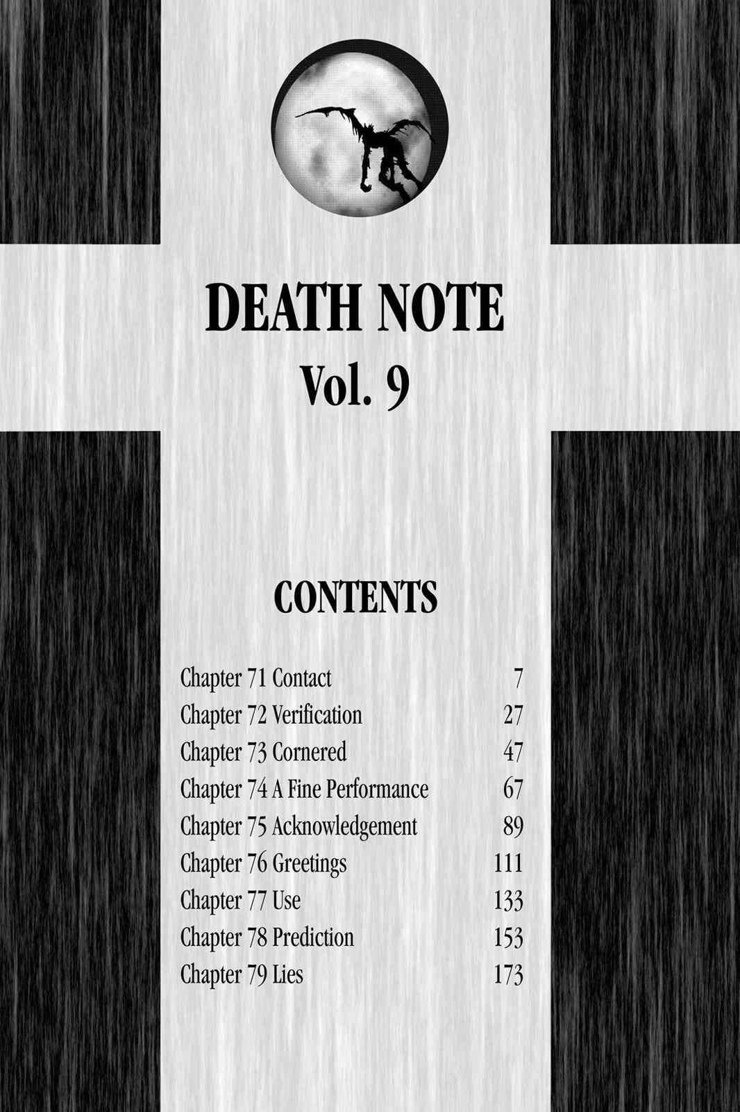 Death Note Chapter 71 Page 7