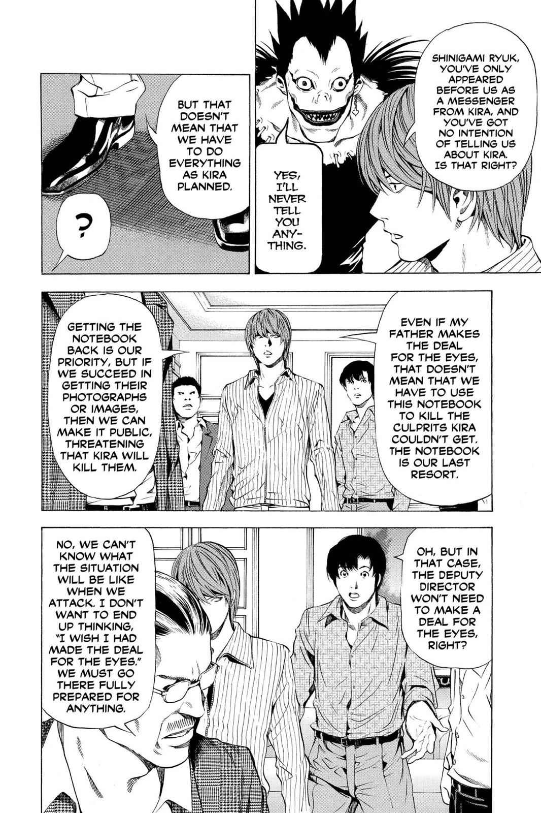 Death Note Chapter 72 Page 6
