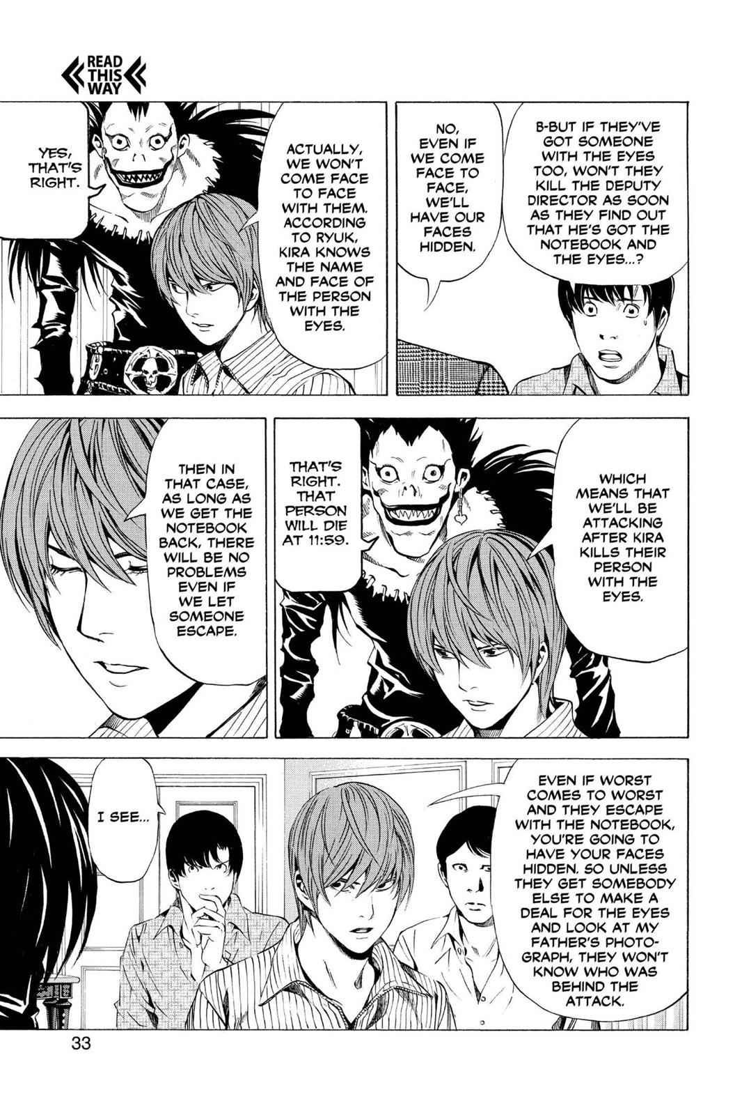 Death Note Chapter 72 Page 7