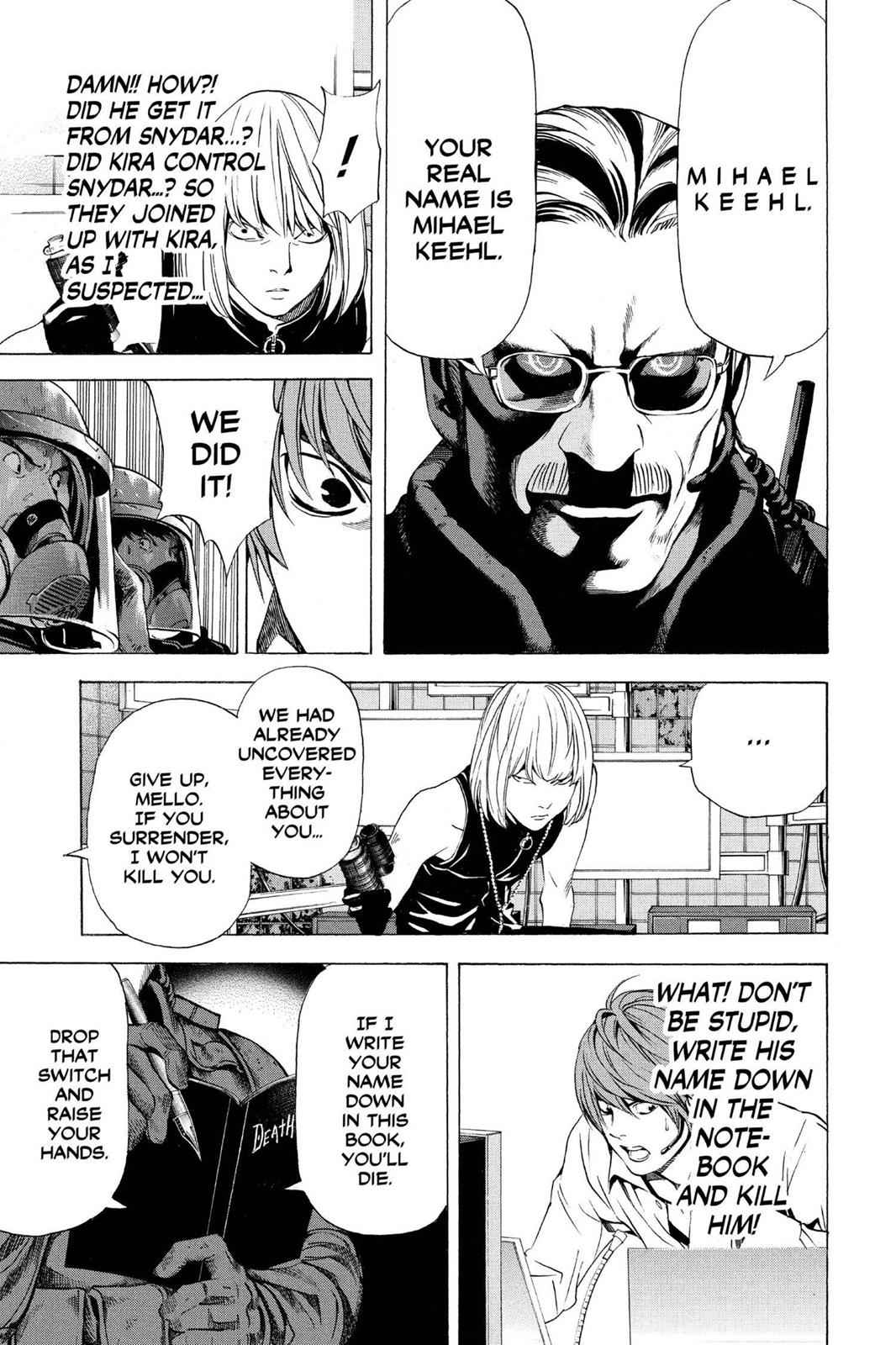 Death Note Chapter 73 Page 17
