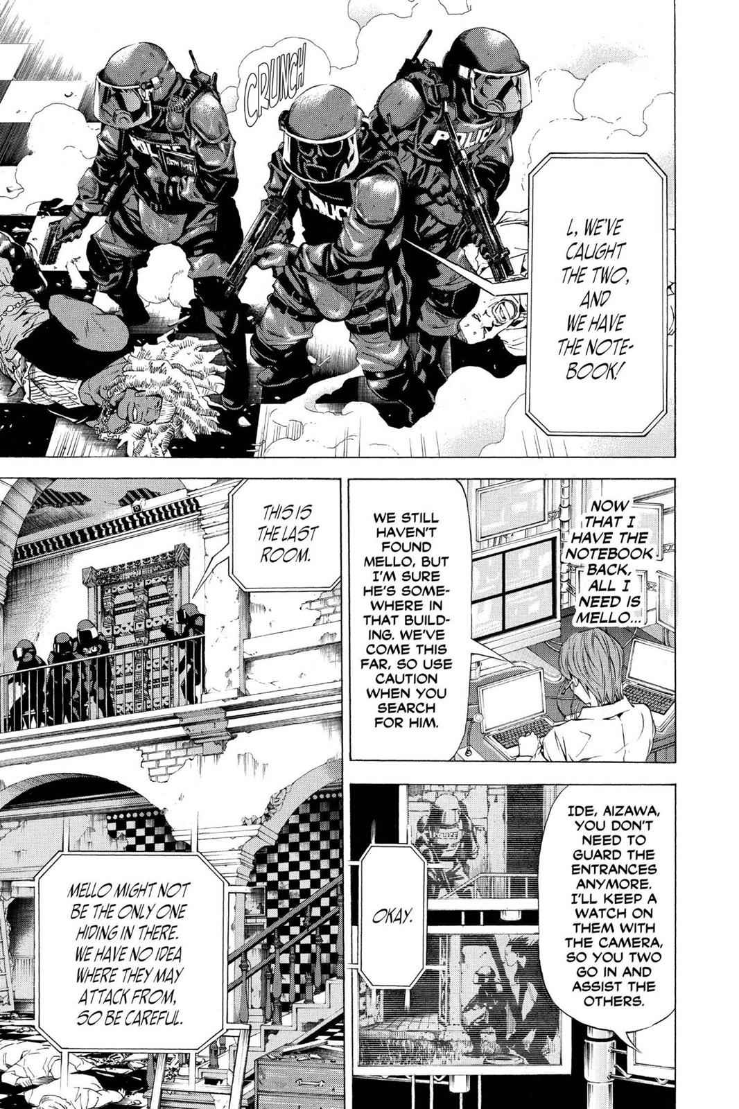 Death Note Chapter 73 Page 9