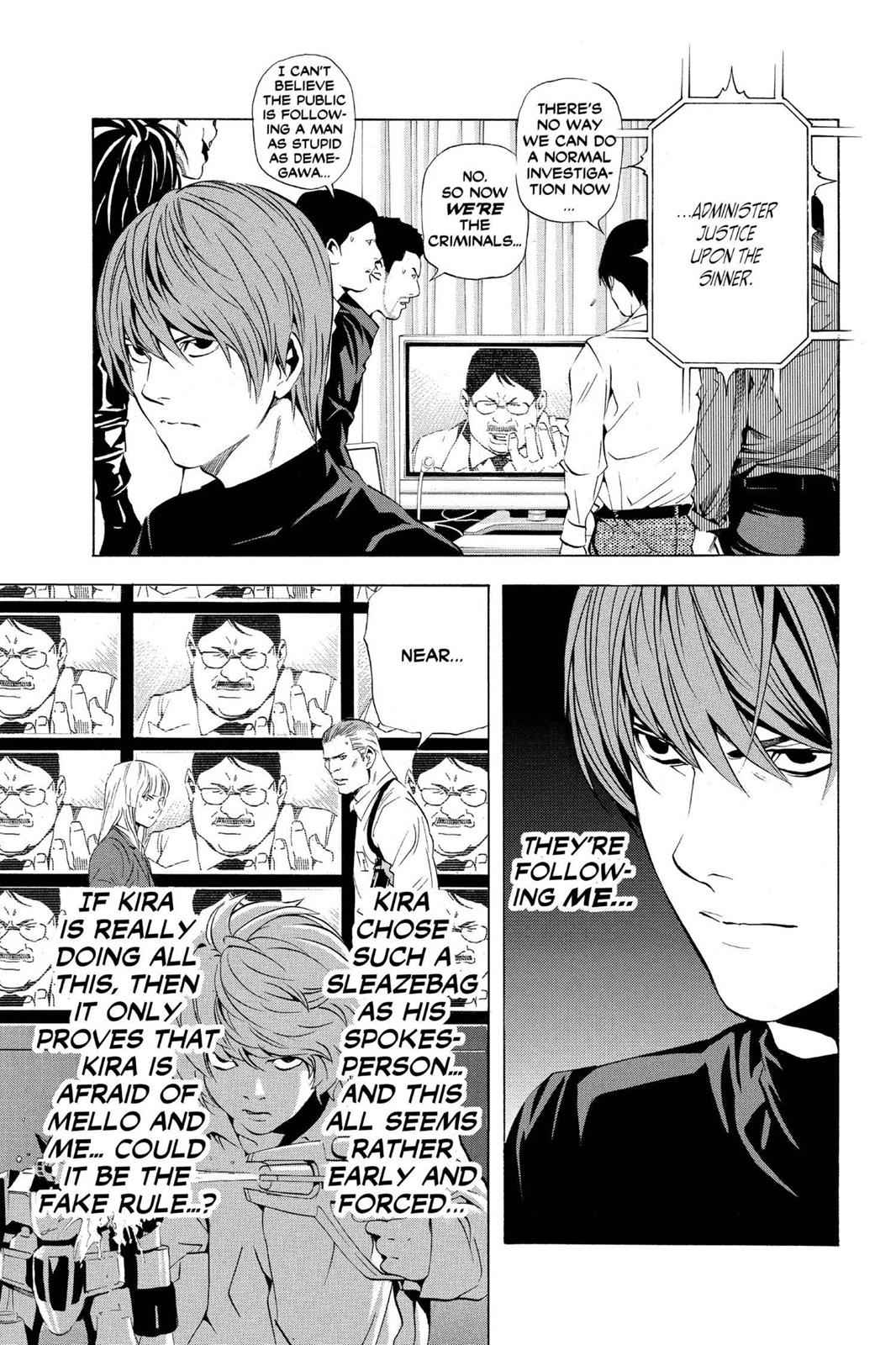 Death Note Chapter 77 Page 19