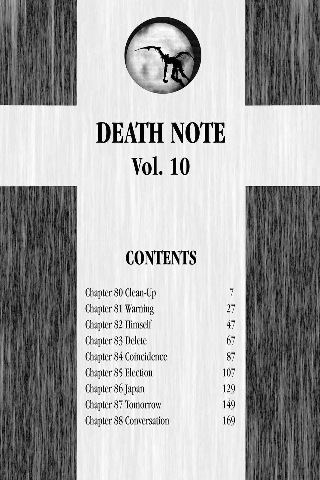 Death Note Chapter 80 Page 7