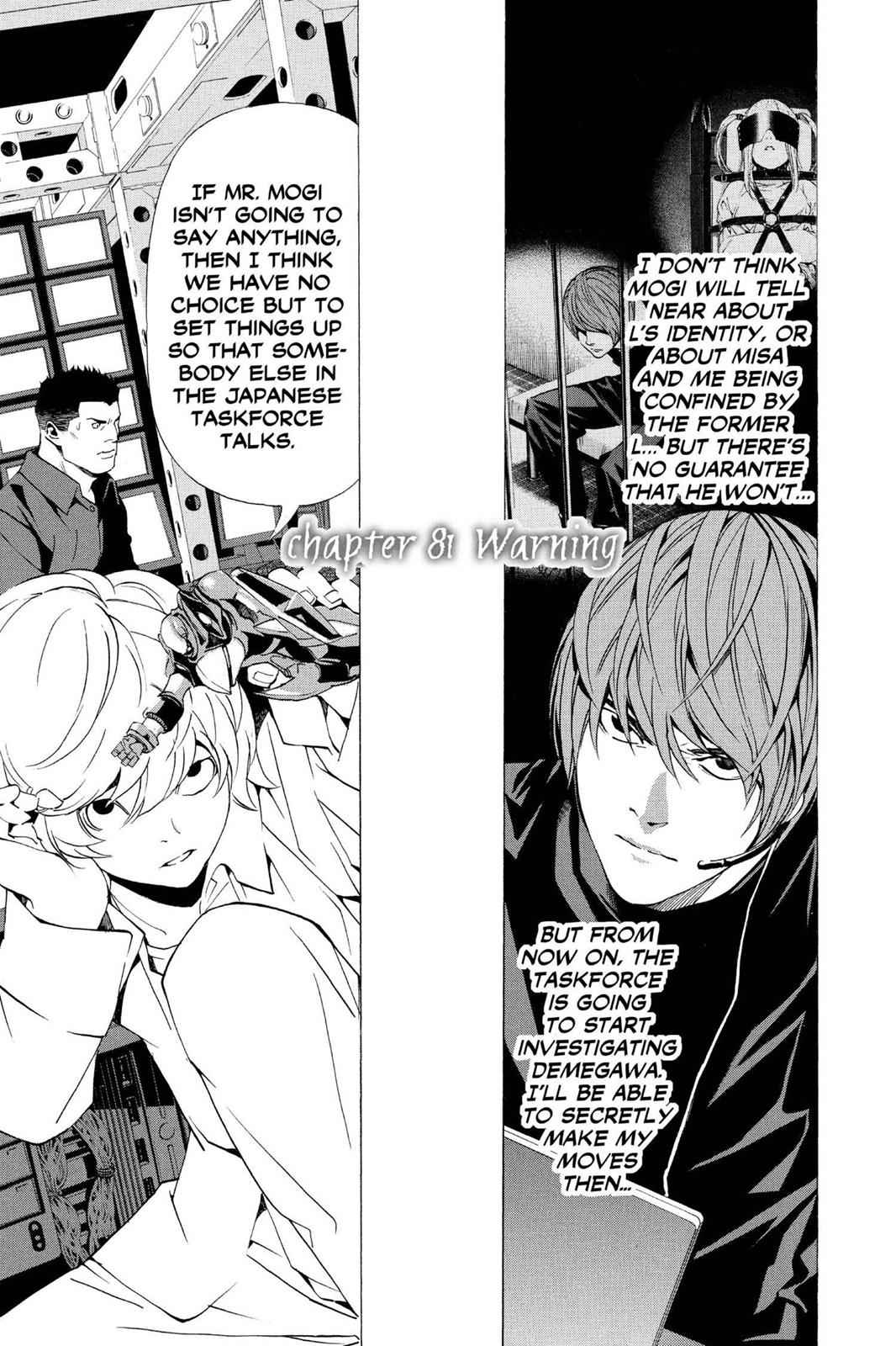 Death Note Chapter 81 Page 1