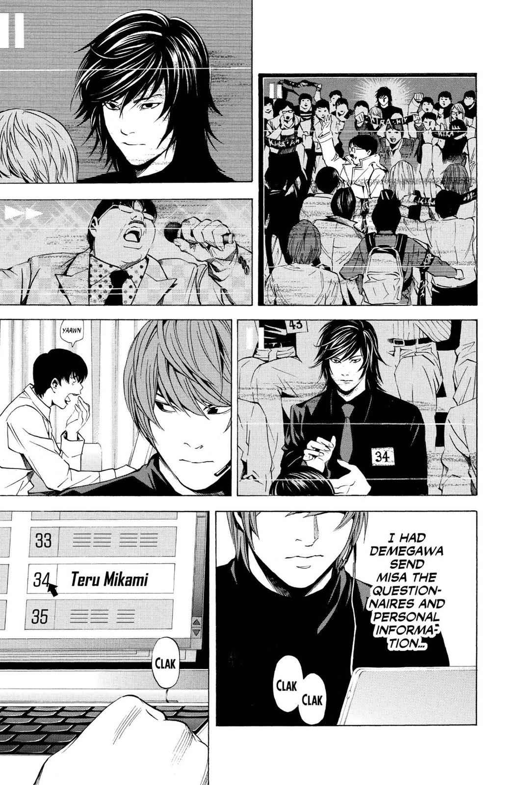 Death Note Chapter 81 Page 3
