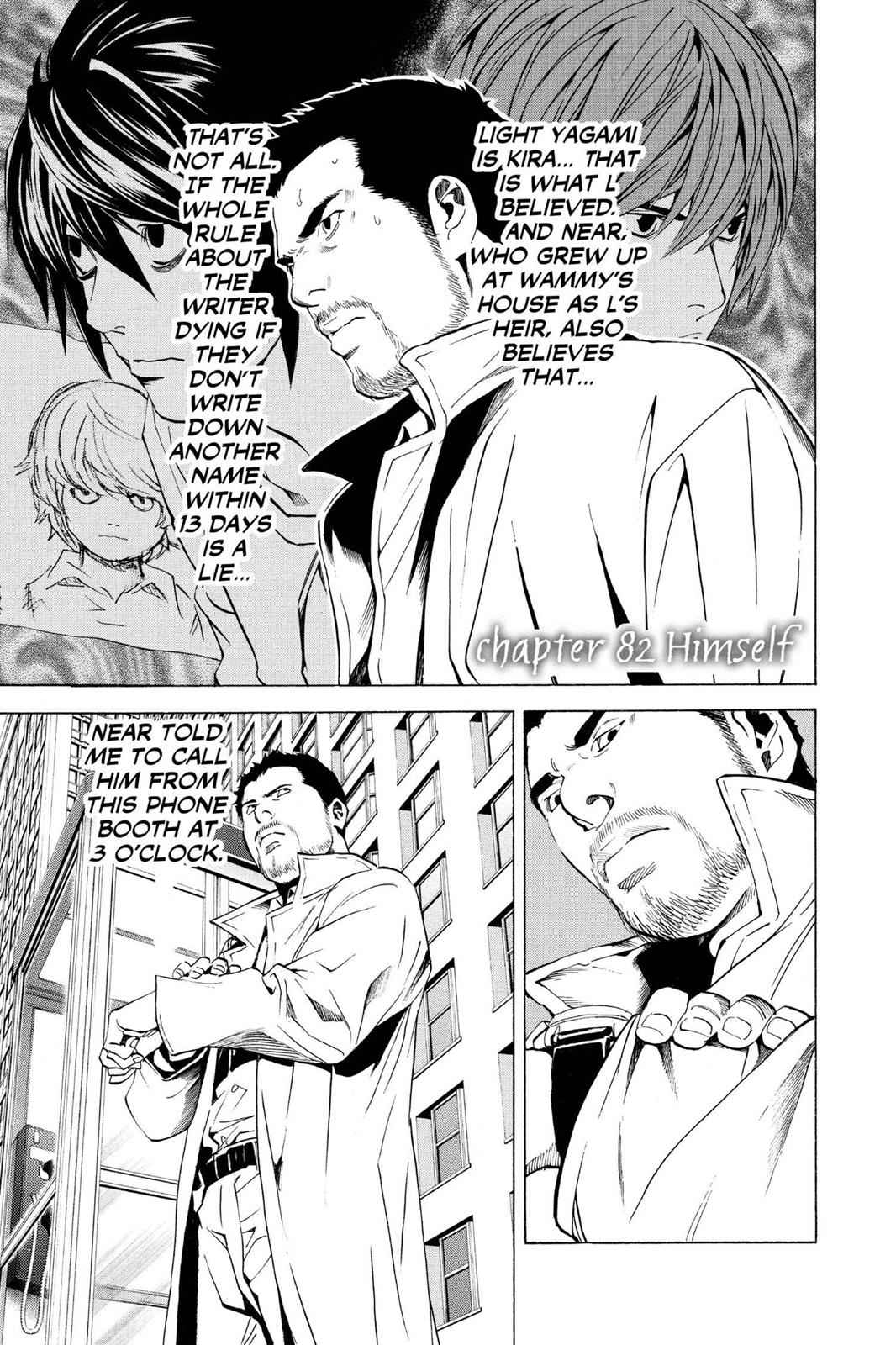 Death Note Chapter 82 Page 1