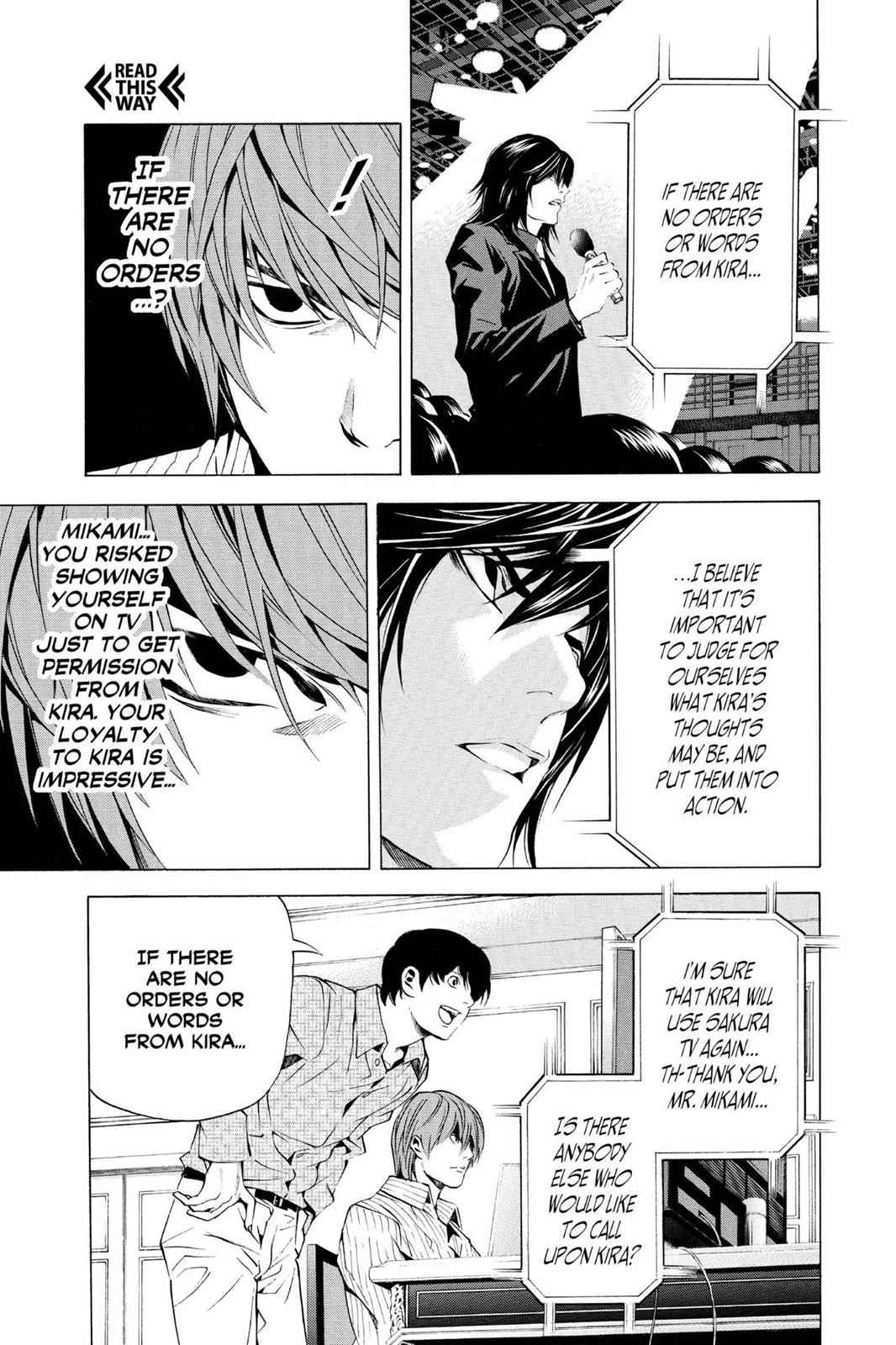 Death Note Chapter 85 Page 17
