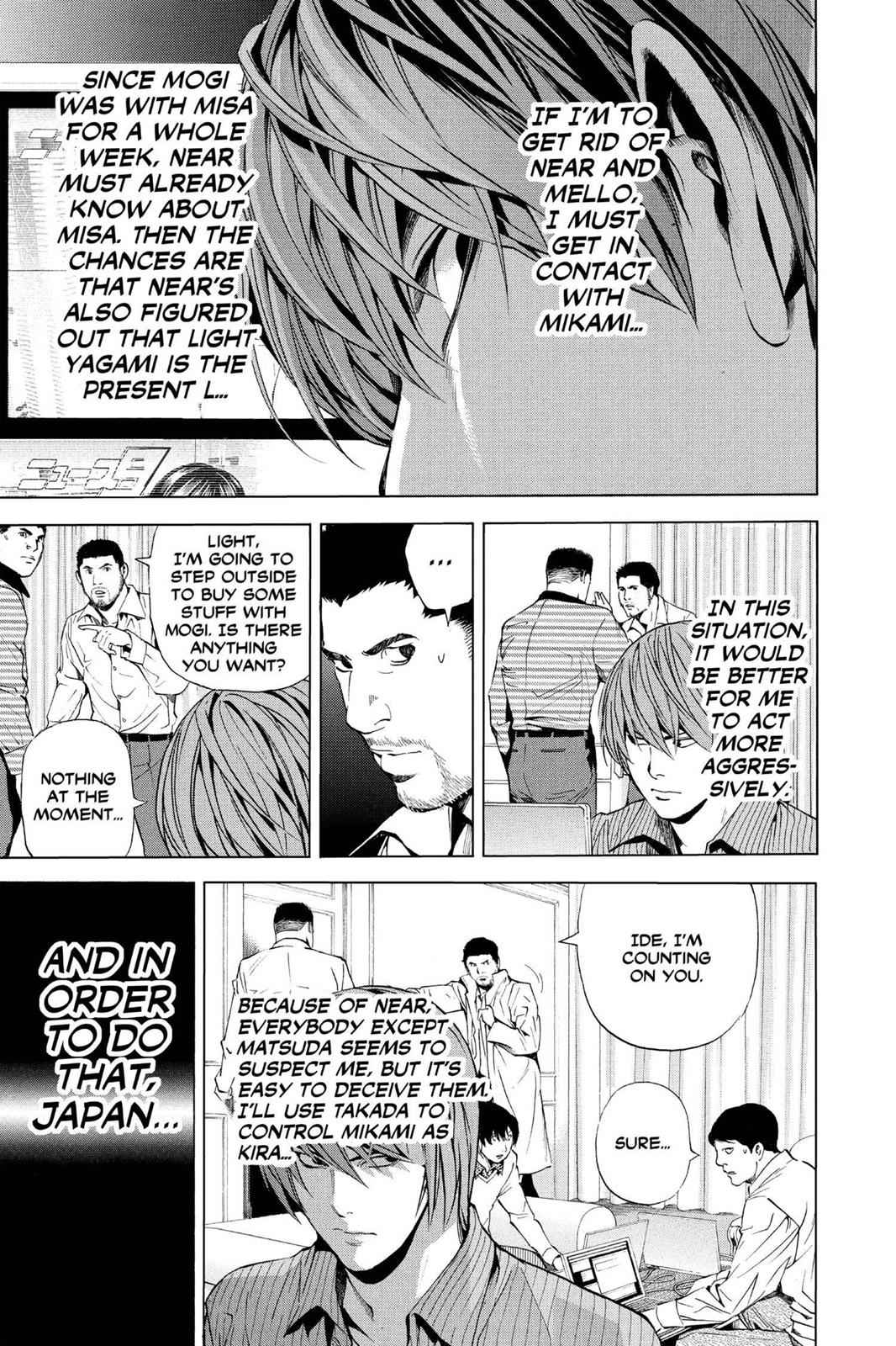 Death Note Chapter 86 Page 5