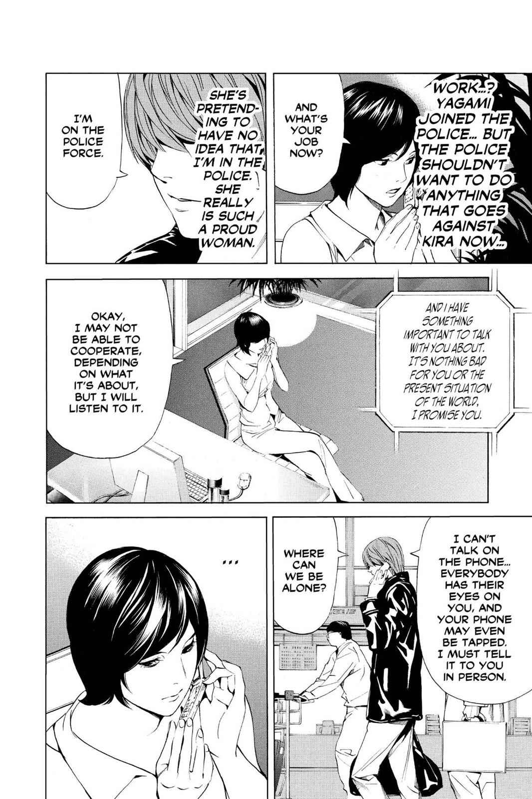 Death Note Chapter 87 Page 4