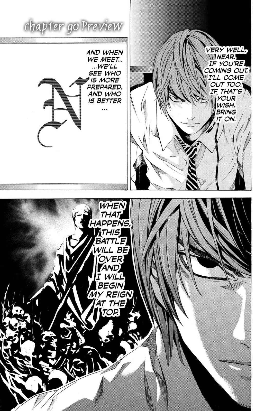 Death Note Chapter 90 Page 1