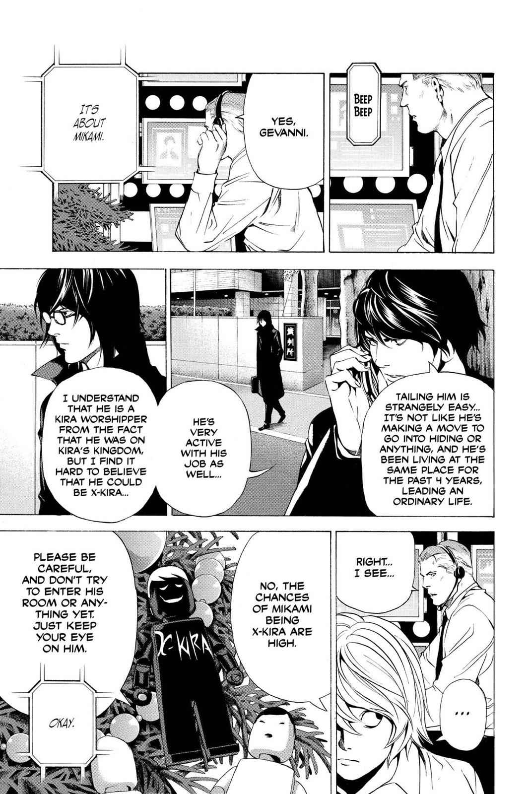 Death Note Chapter 92 Page 7