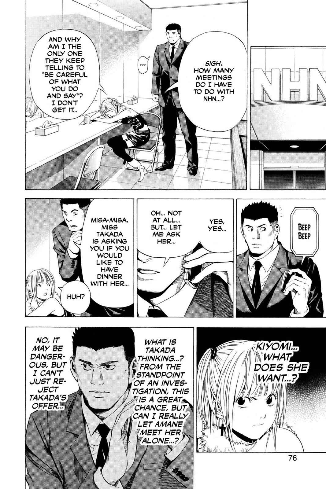 Death Note Chapter 92 Page 8