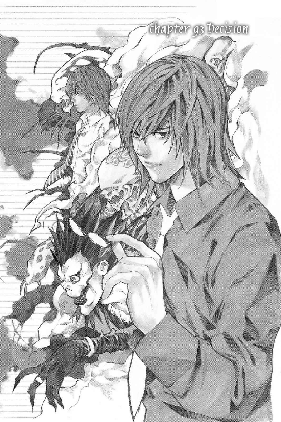 Death Note Chapter 93 Page 1