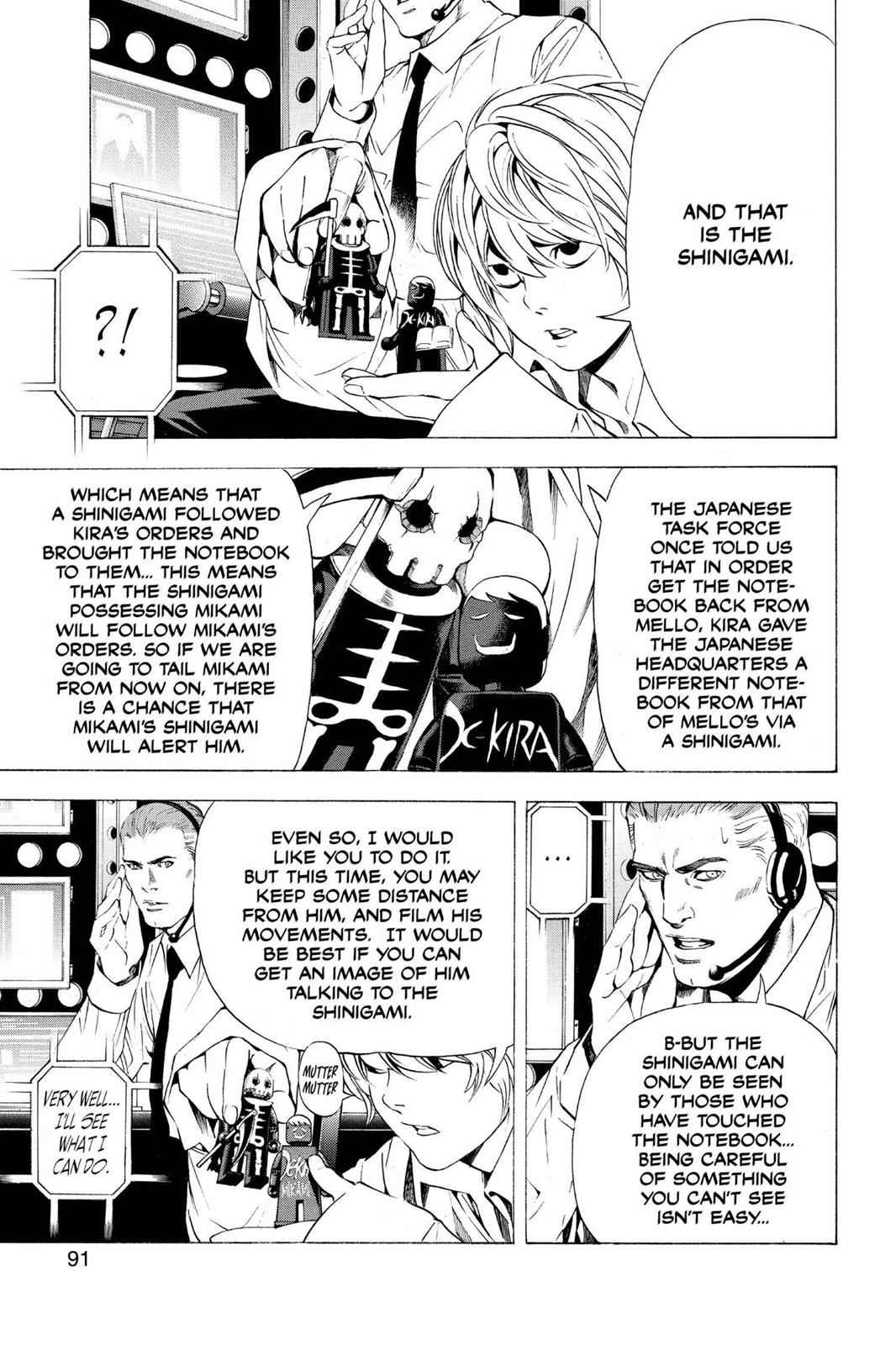 Death Note Chapter 93 Page 4