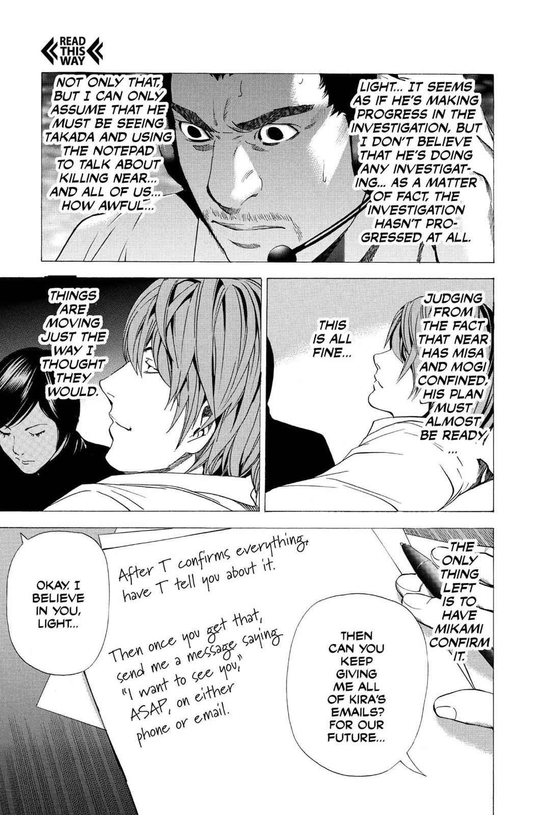 Death Note Chapter 96 Page 15