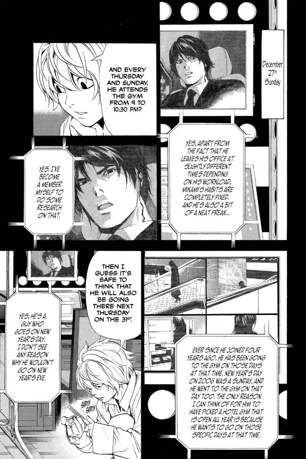 Death Note Chapter 96 Page 3