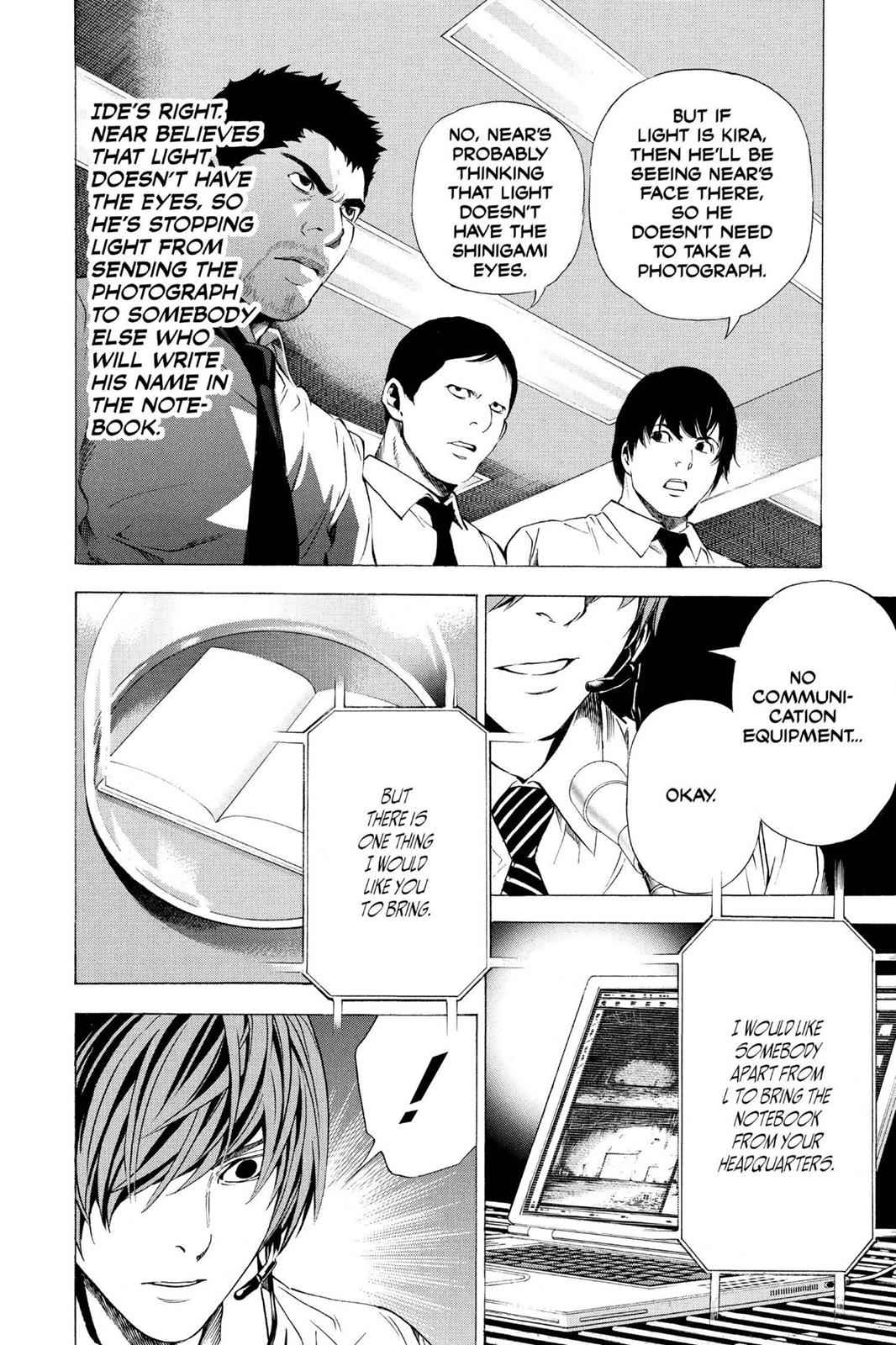 Death Note Chapter 98 Page 10