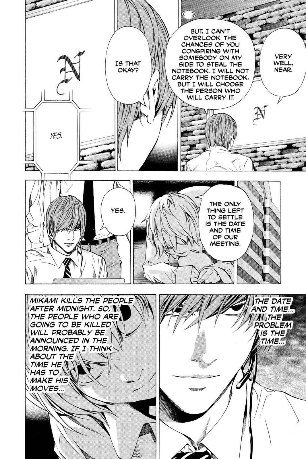 Death Note Chapter 98 Page 12