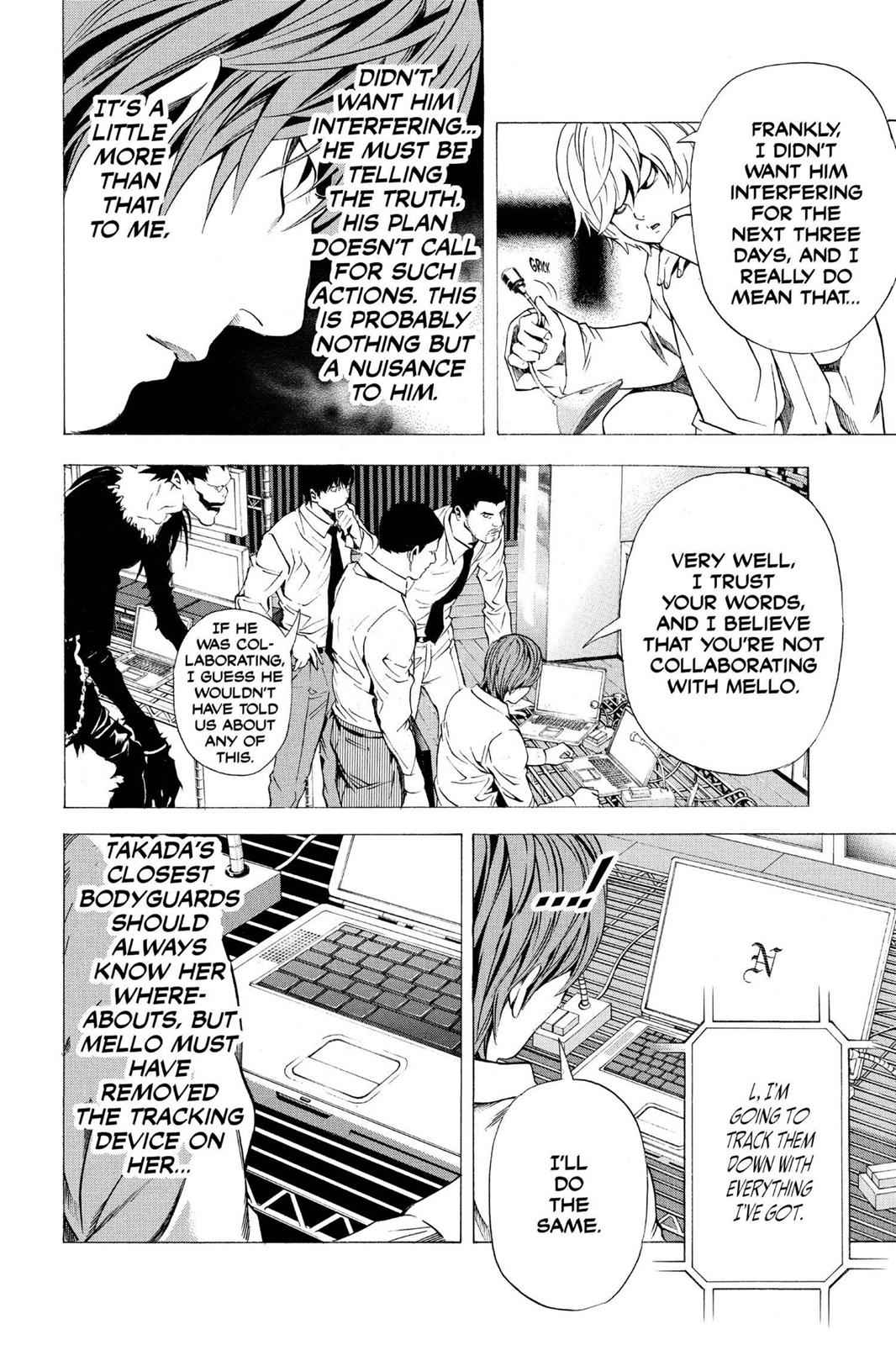 Death Note Chapter 99 Page 19