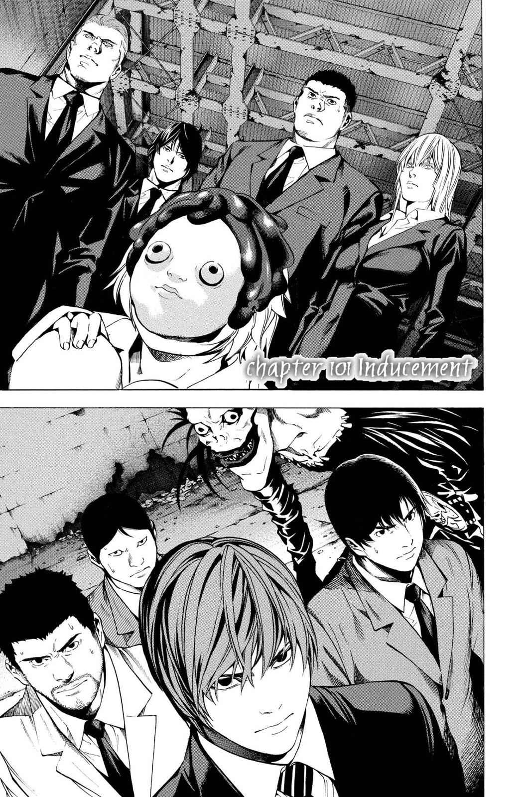 Death Note Chapter 101 Page 1
