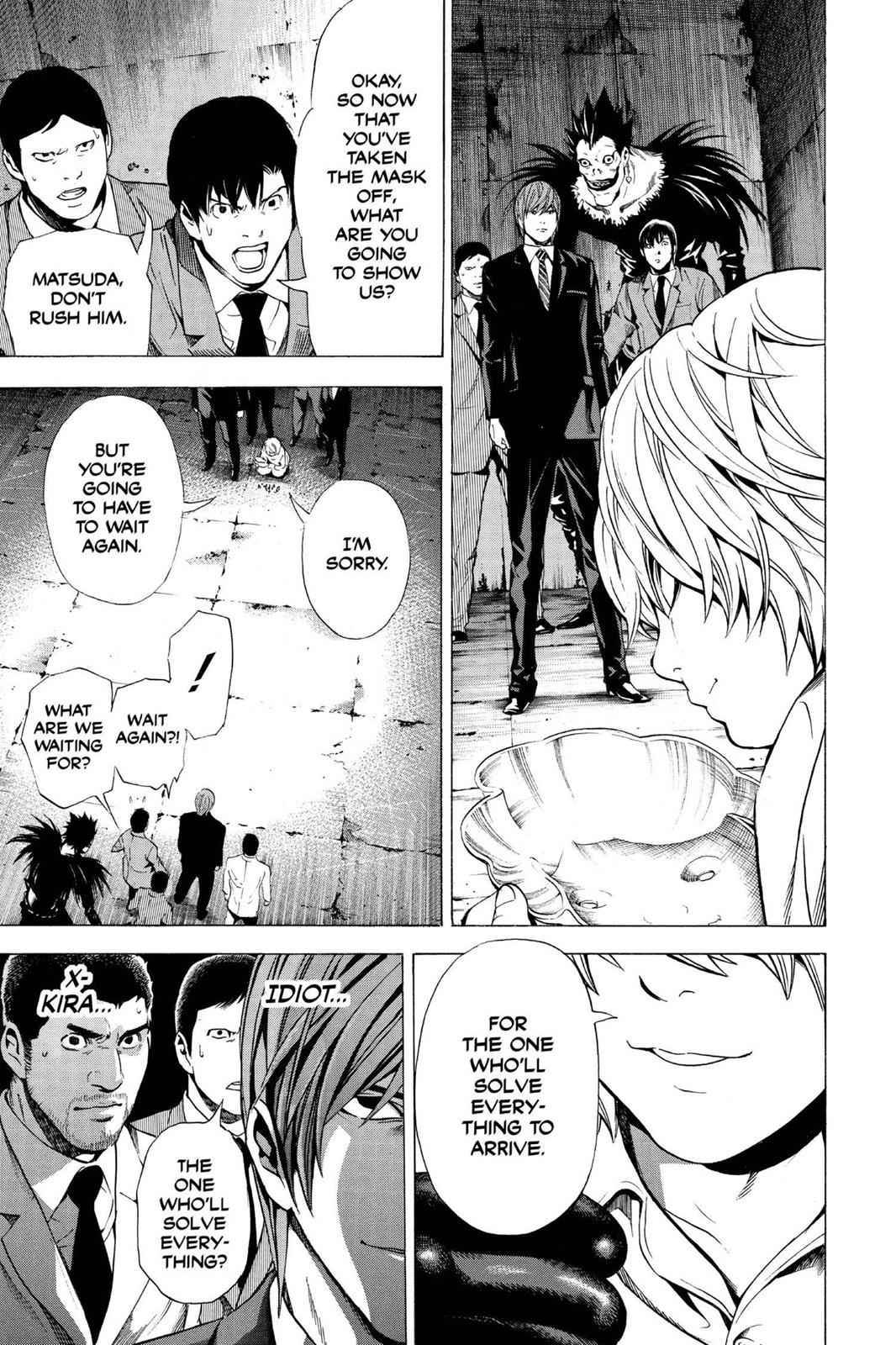 Death Note Chapter 101 Page 9