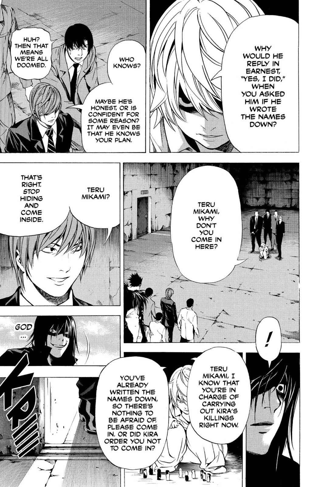 Death Note Chapter 102 Page 17
